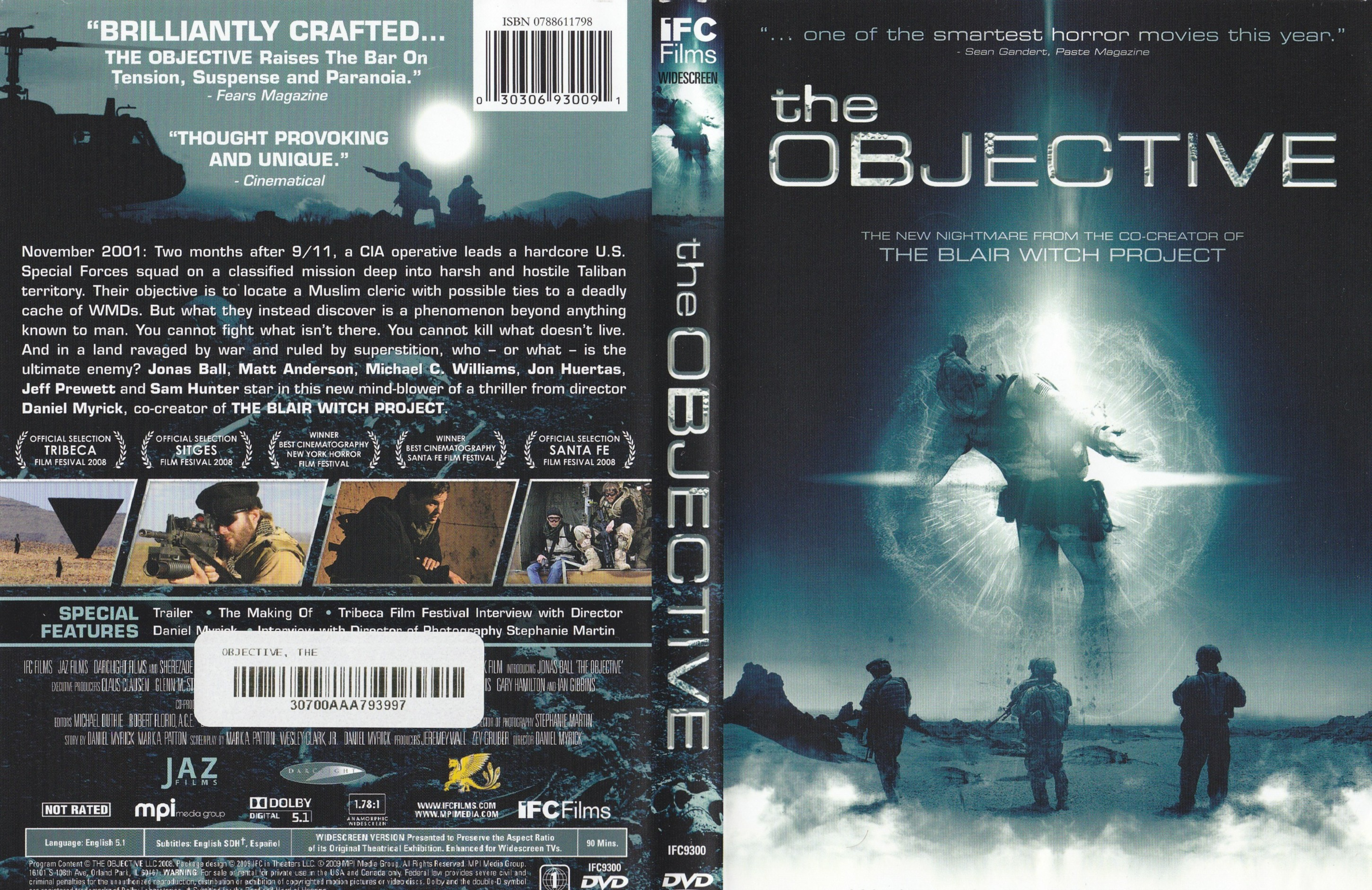 covers box sk the objective 2008 high quality dvd