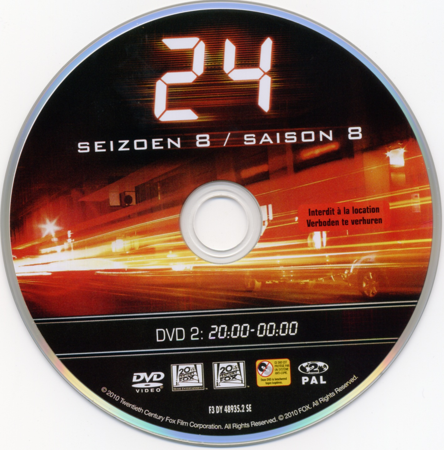 COVERS BOX SK ::: 24 Season 8 BOXSET (Part 1) - high quality
