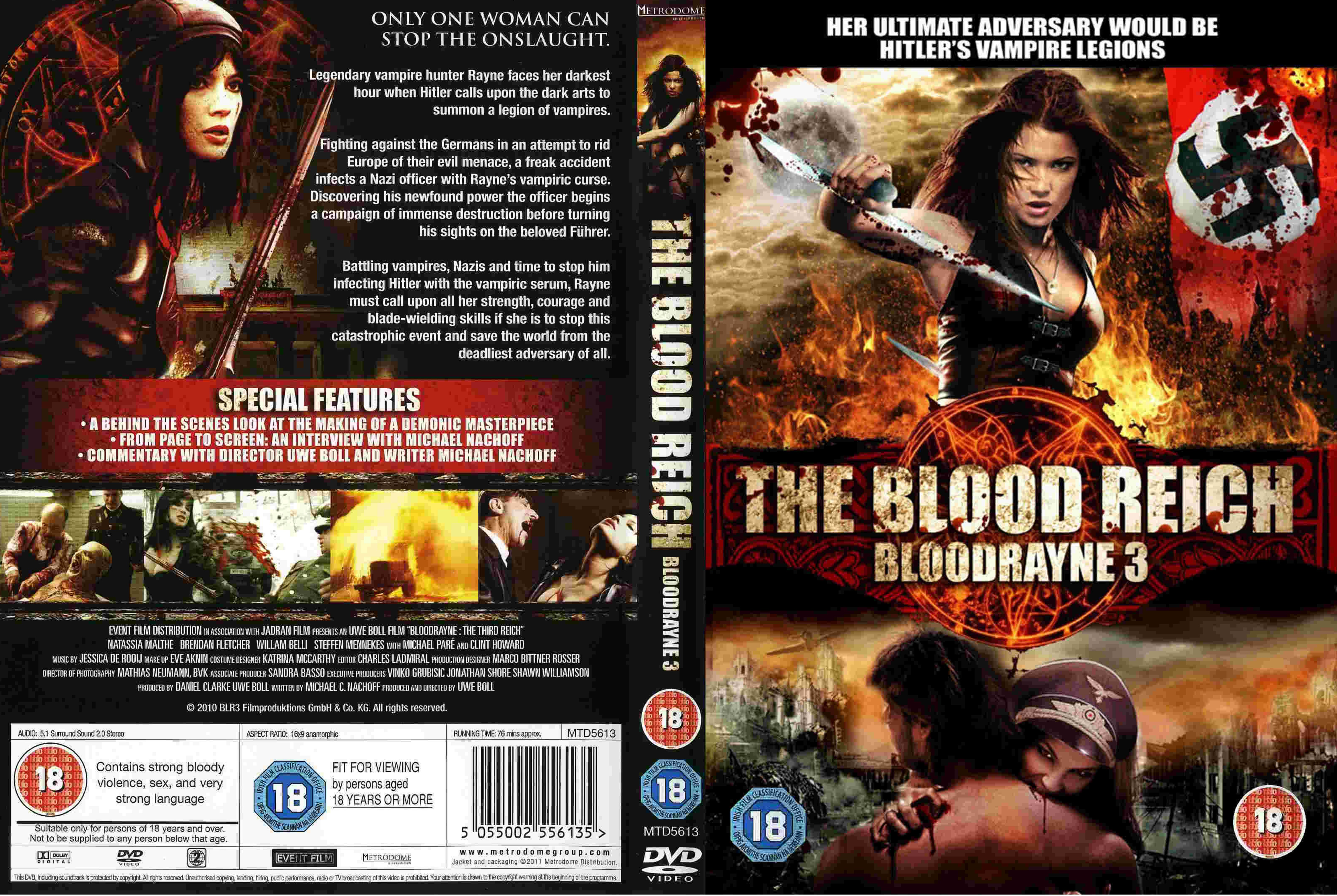 covers box sk     bloodrayne the third reich  2010