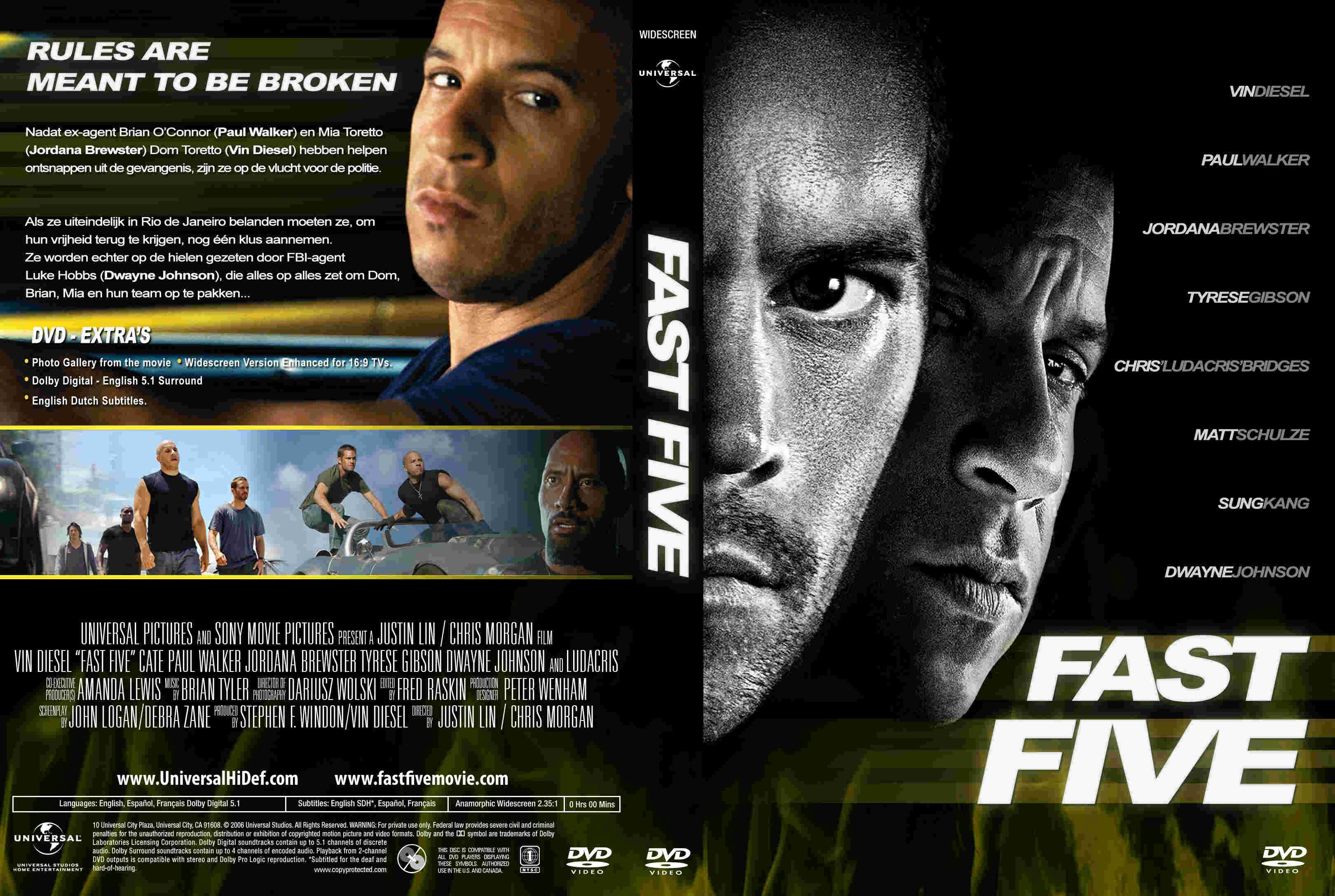COVERSBOXSK Fast Five 2011