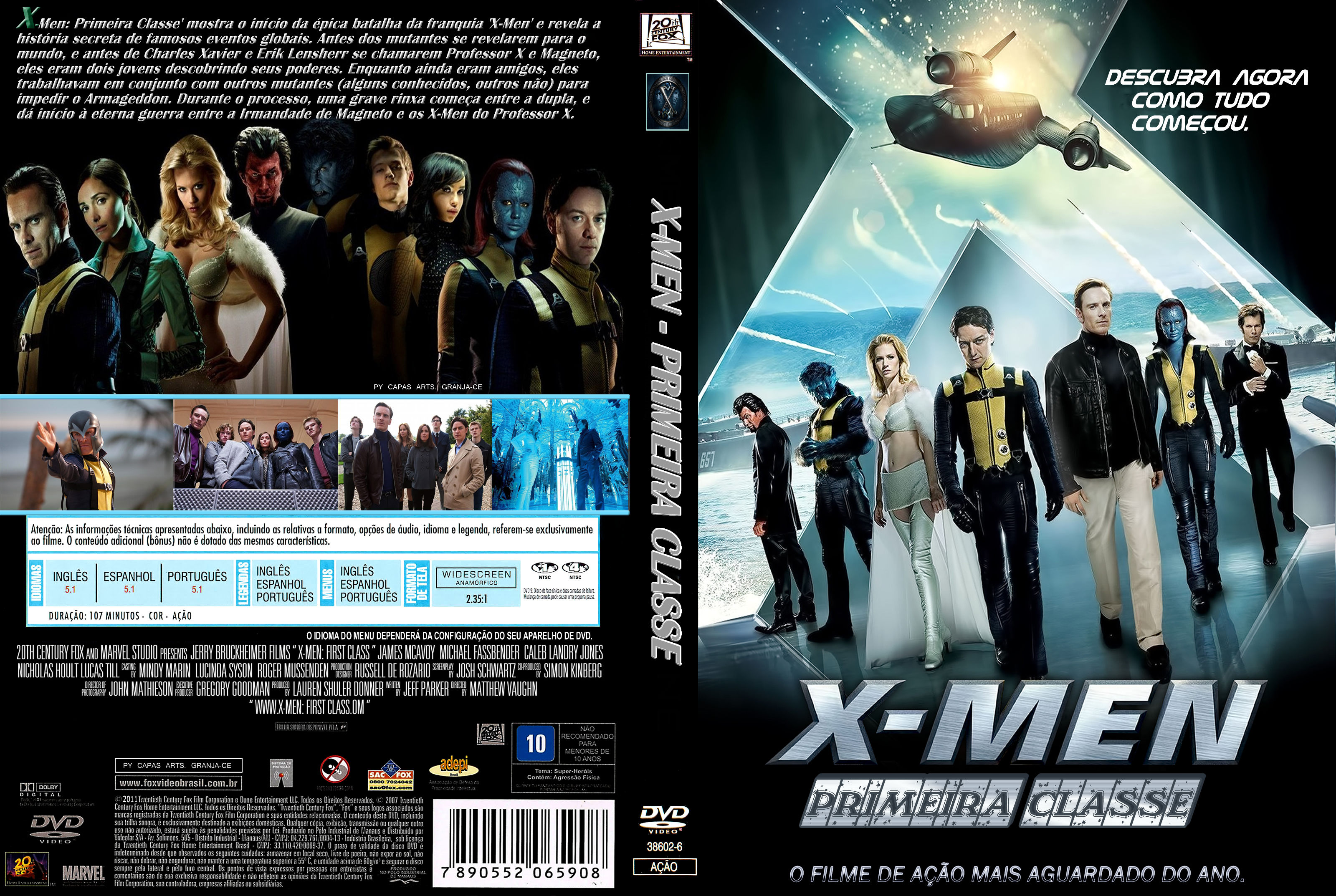X Men Dvd Cover: COVERS.BOX.SK ::: X-Men