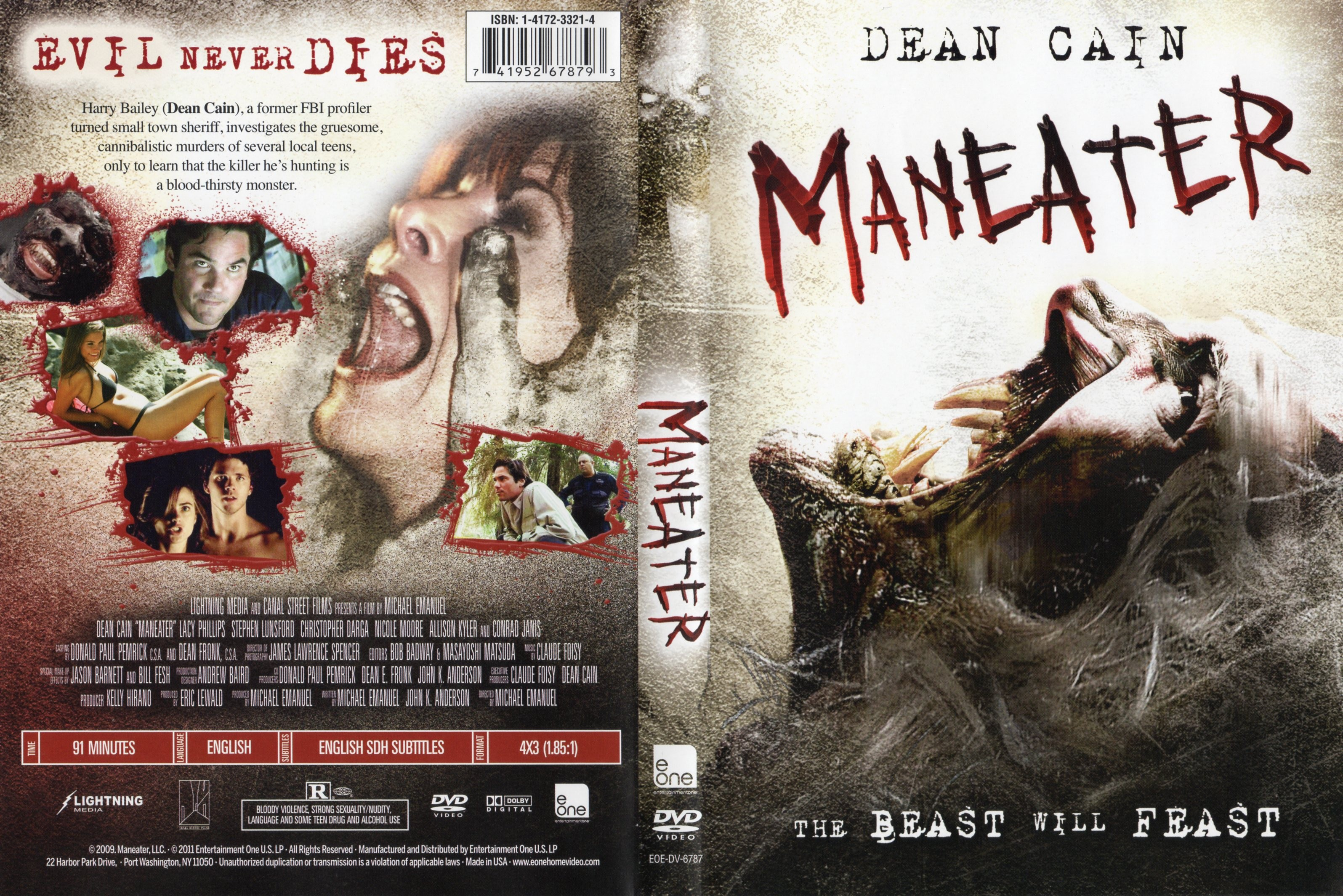 covers box sk maneater 2009   high quality dvd