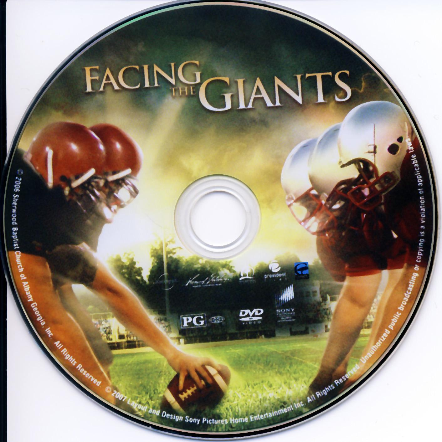 Dvd facing giant movie