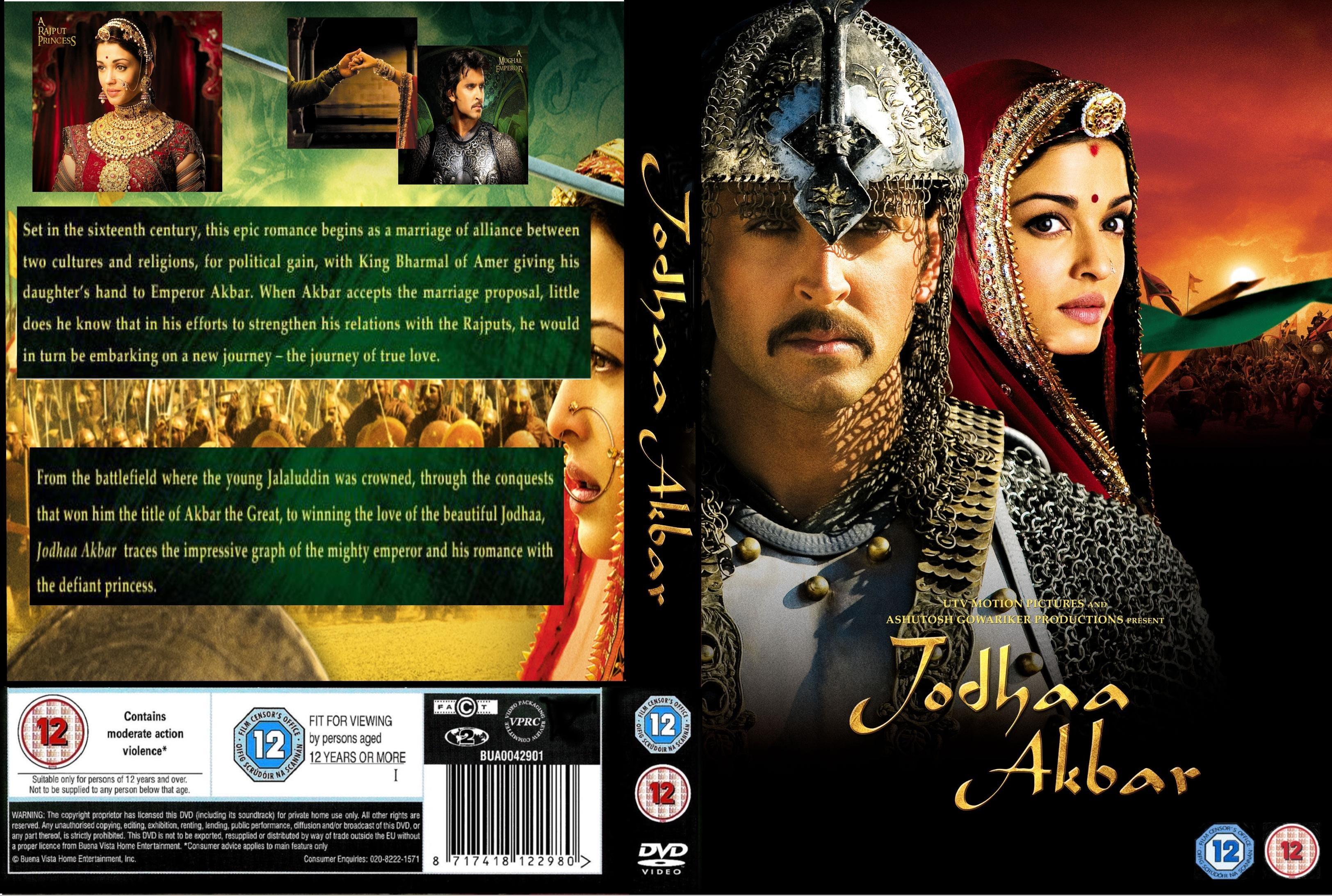 jodha akbar dvd