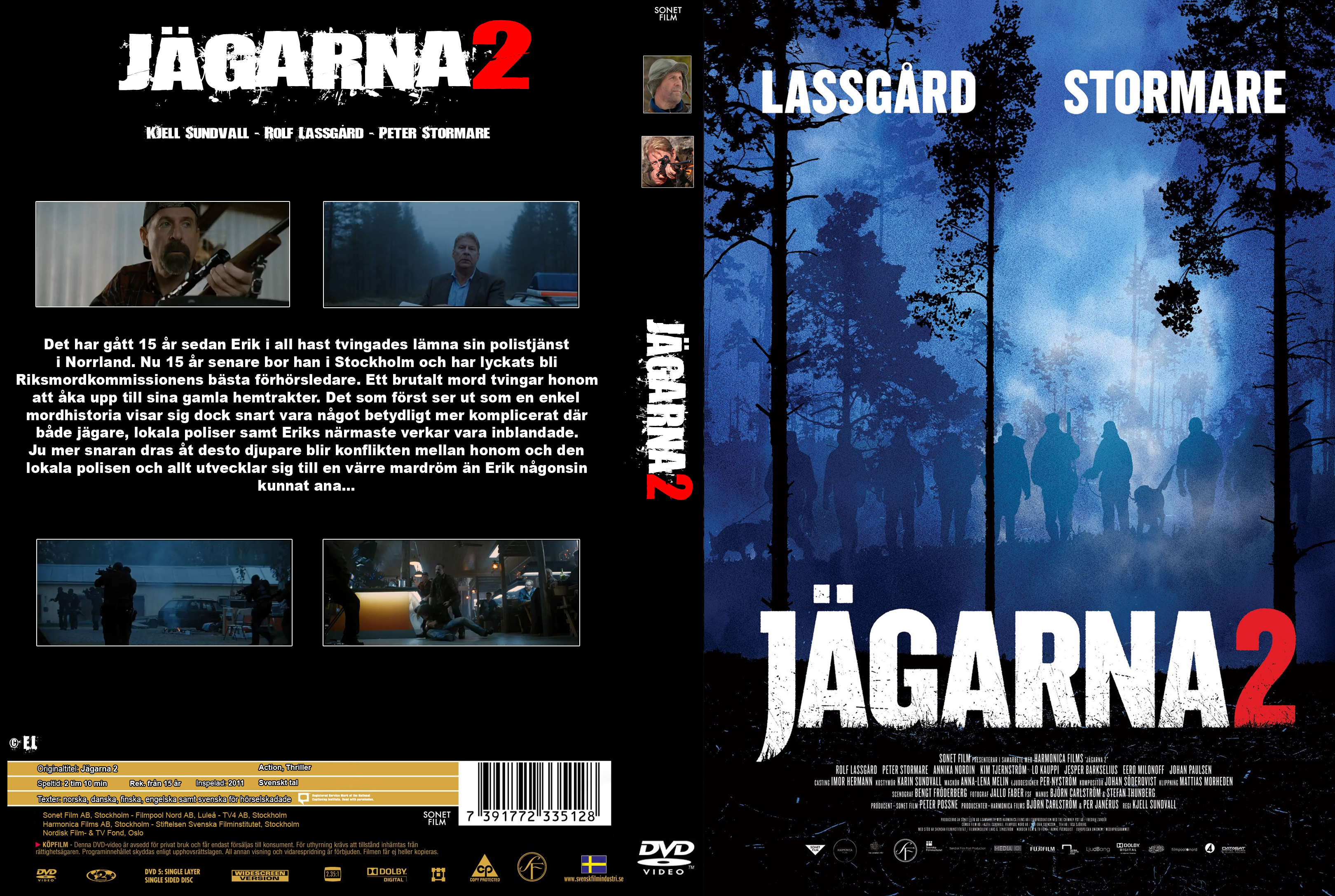 Jagarna 2 2011 SWEDiSH 1080p BluRay x264-iMSORNY