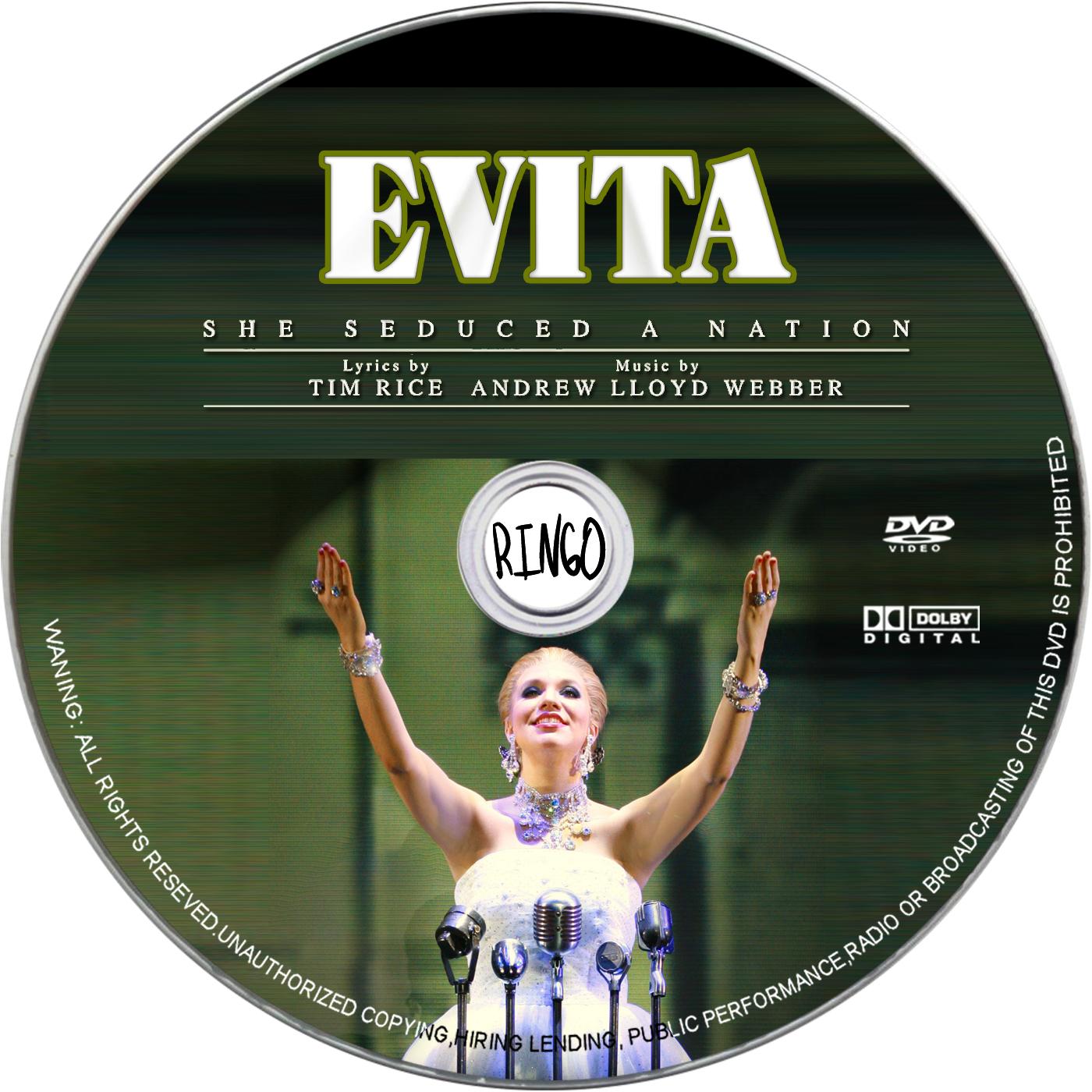 Evita (1996) bluray - mkv