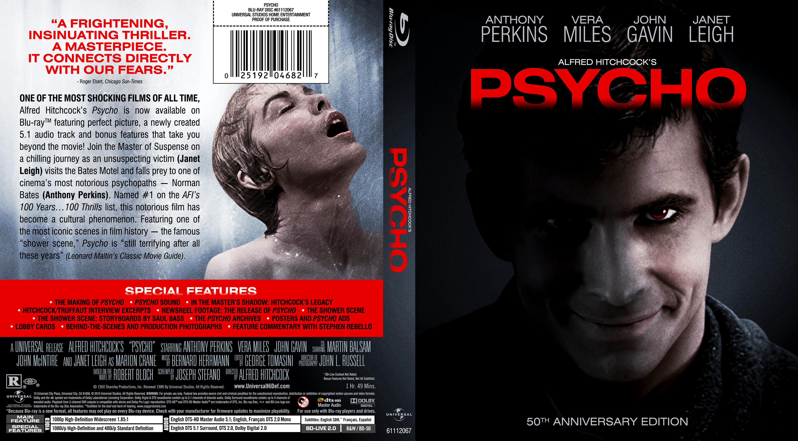 Psycho movie list