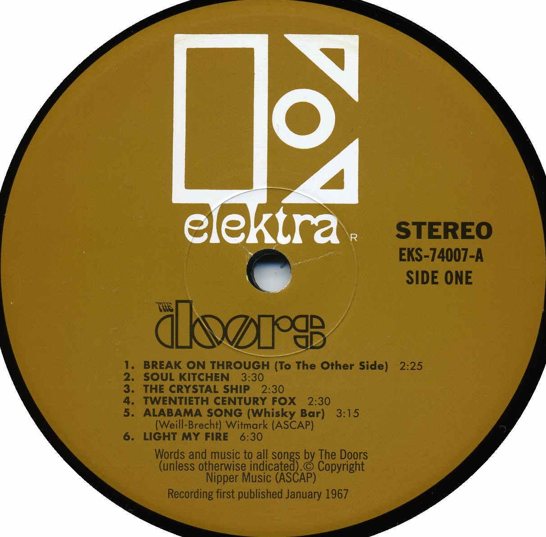 Covers Box Sk Doors The The Doors Vinyl High