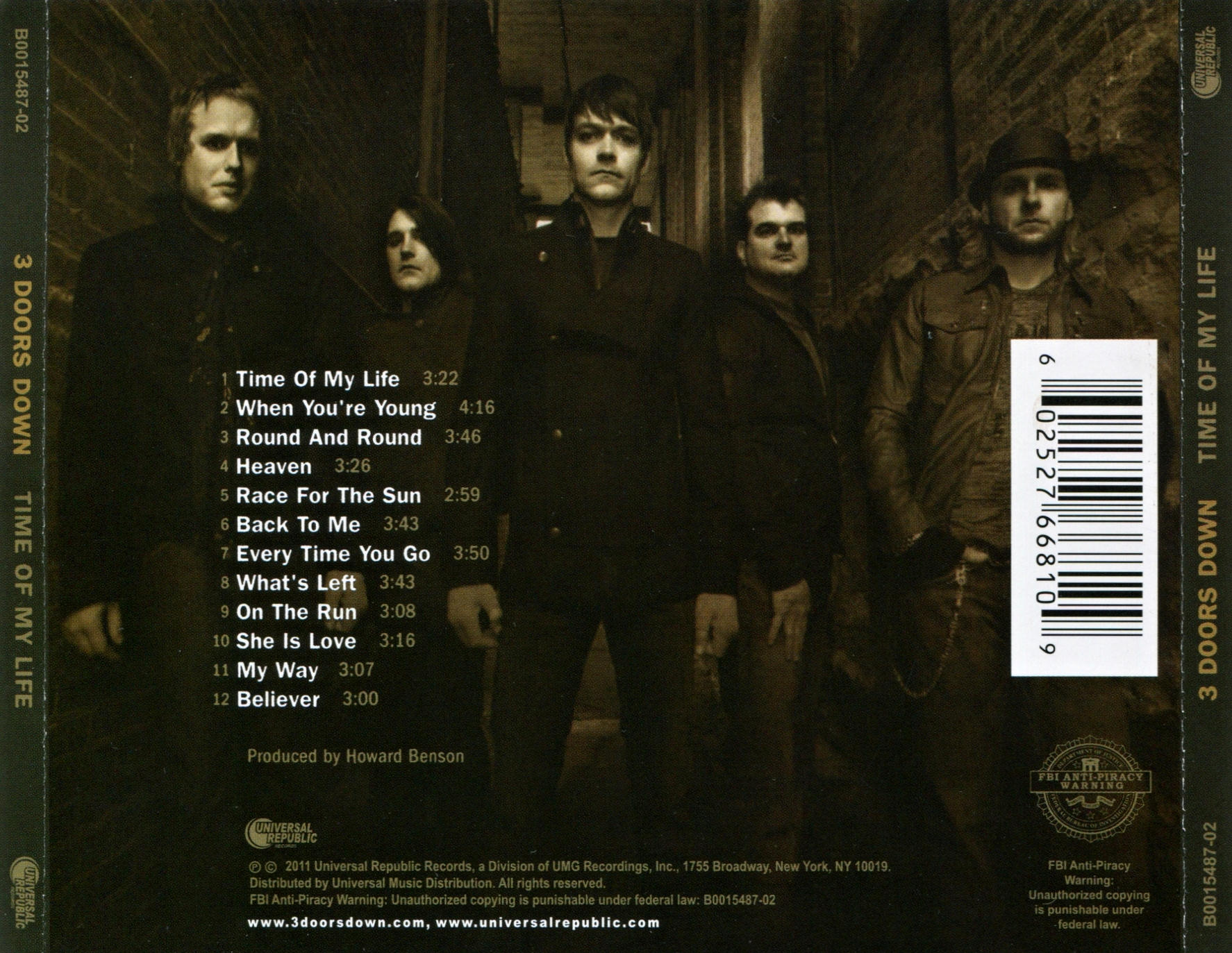 Doors Cd Covers 3 Doors Down Time My Life Back Sc 1 St