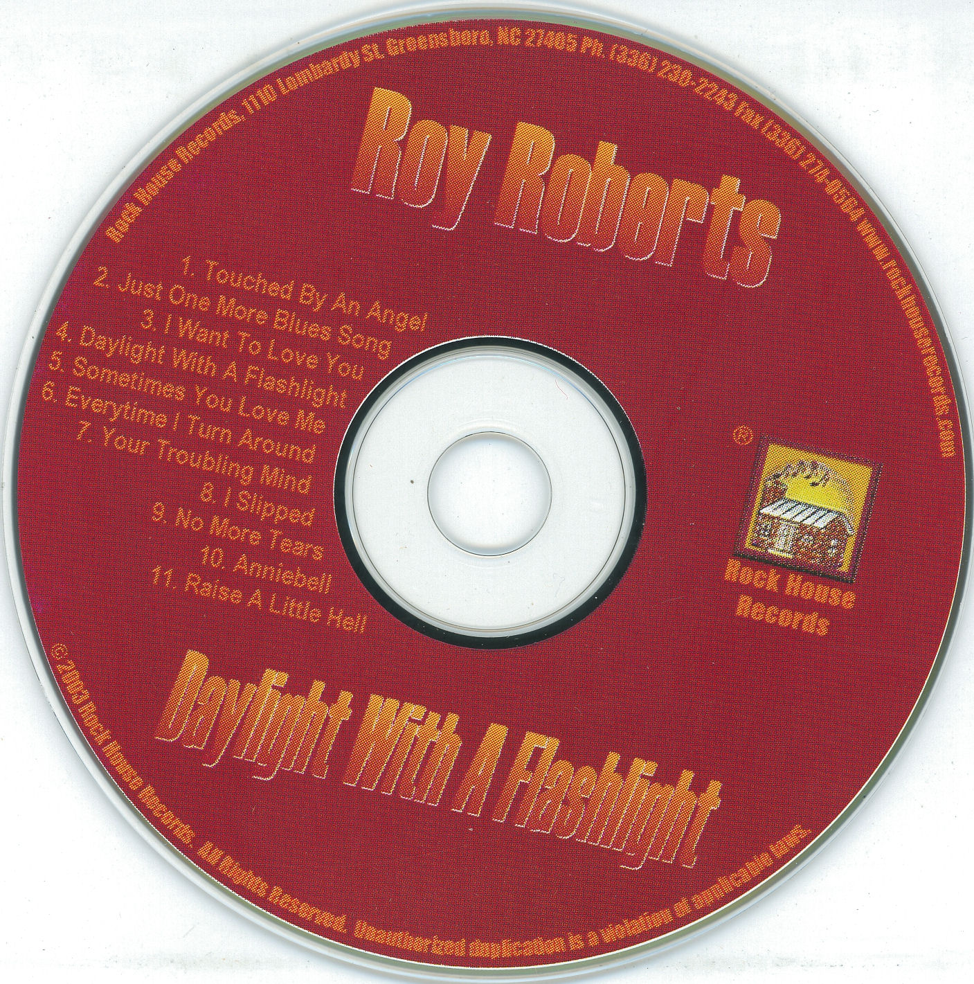 COVERS BOX SK ::: roy roberts - daylight with a flashlight