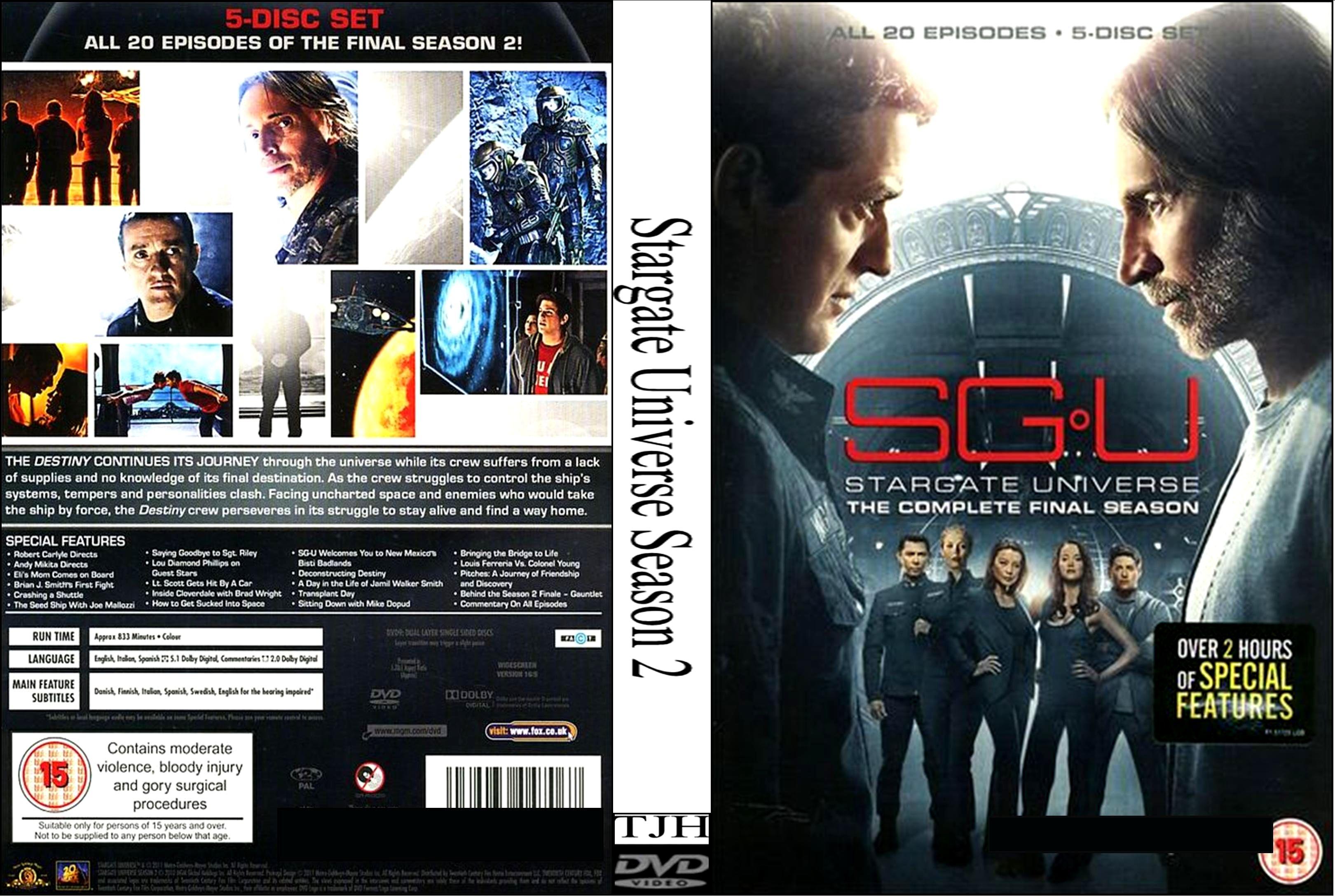 Xem Phim Cánh Cổng Vũ Trụ Phần 2 - Sgu Stargate Universe Season 2 - Wallpaper Full HD - Hình nền lớn