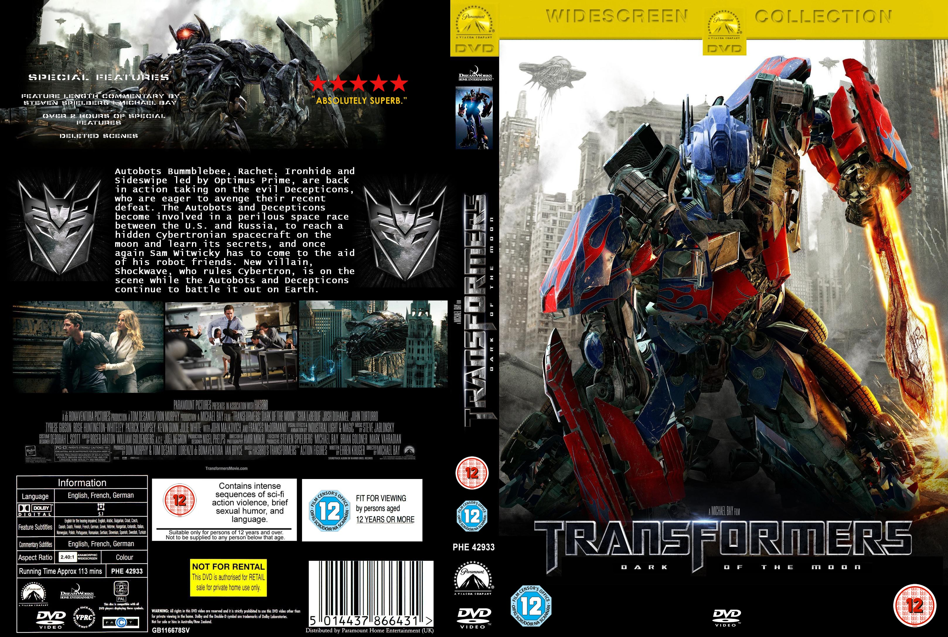 Image Gallery transformers 4 dvd
