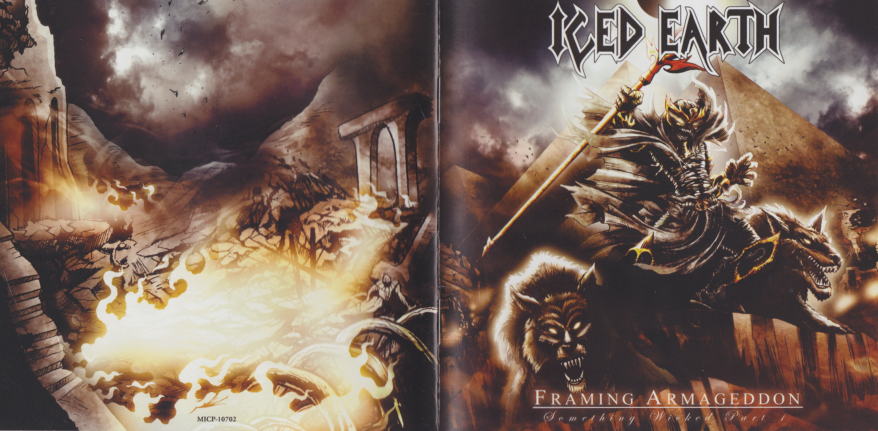 COVERS.BOX.SK ::: iced earth - framing armageddon: something wicked ...