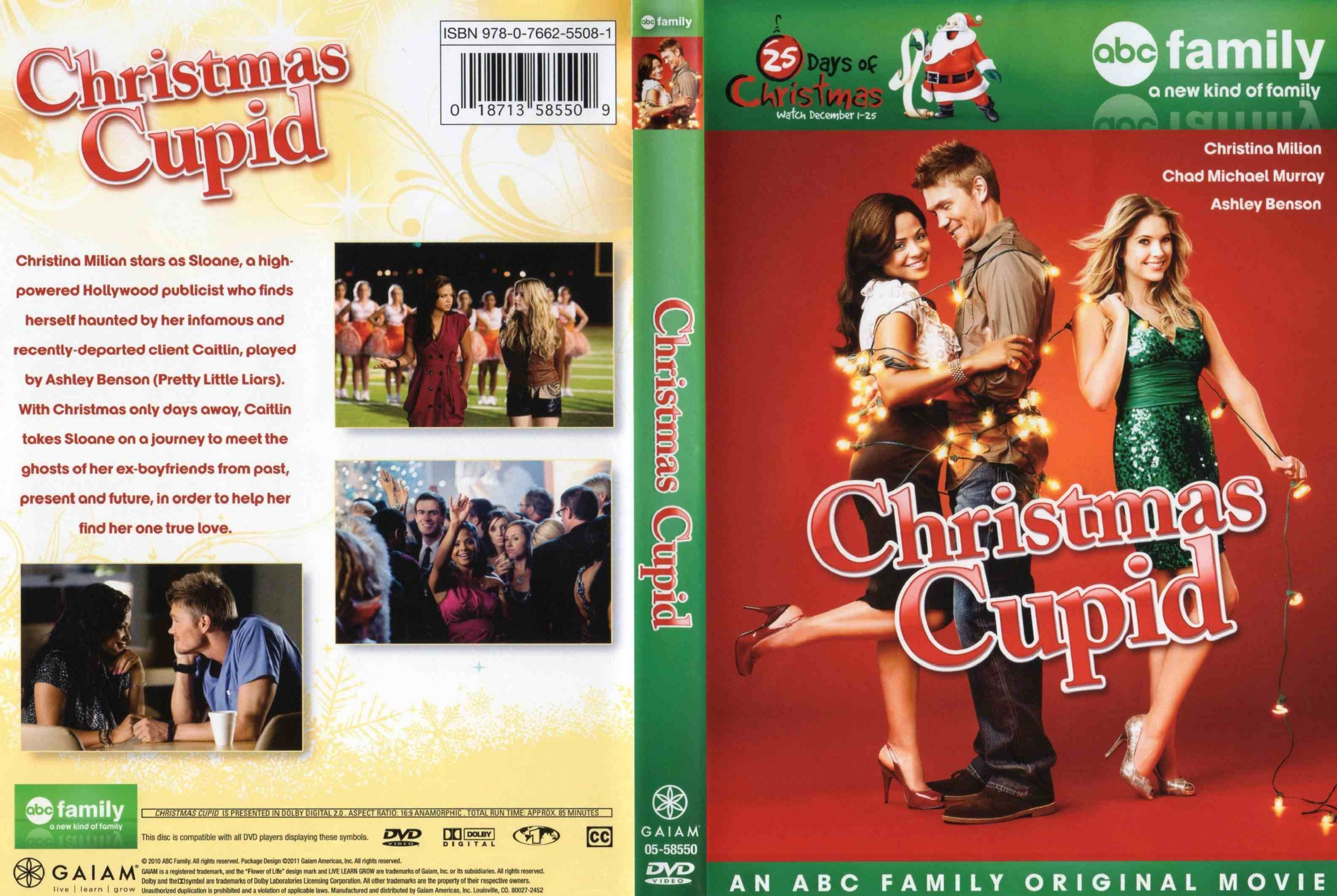 Christmas Cupid.Covers Box Sk Christmas Cupid 2010 High Quality Dvd