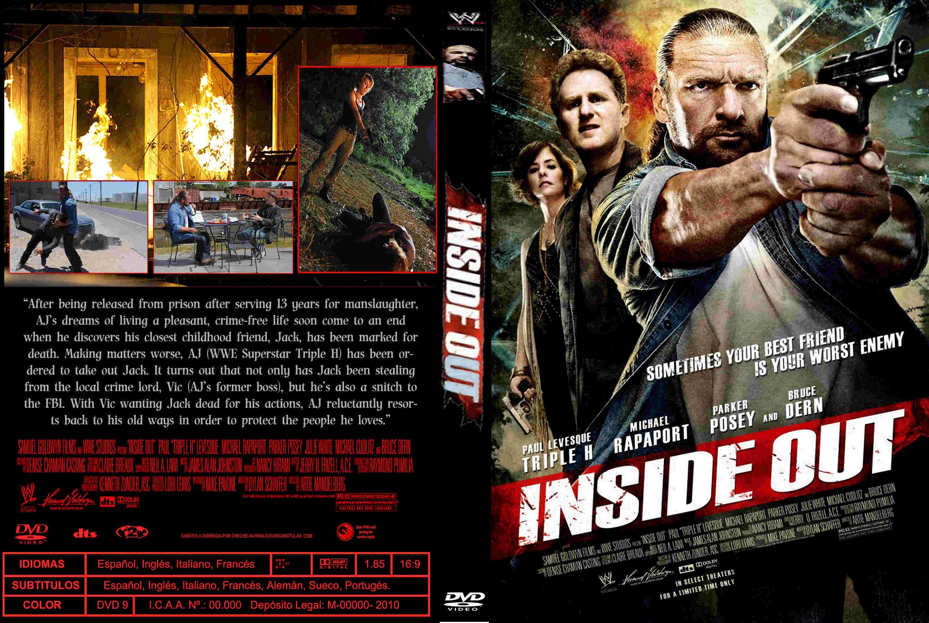 Covers Box Sk Inside Out 2011 High Quality Dvd