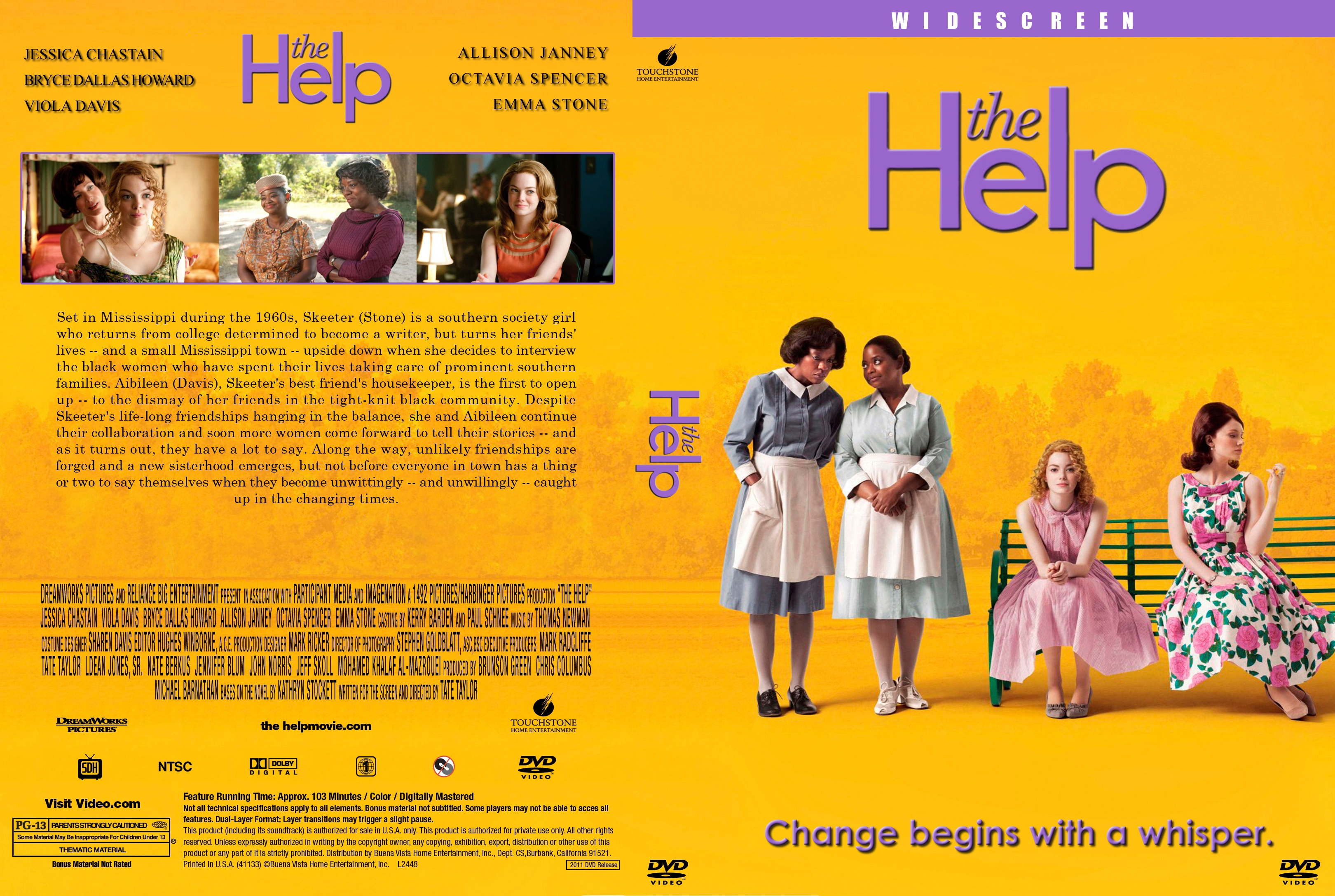 Covers Box Sk The Help 2011 High Quality Dvd Blueray Movie