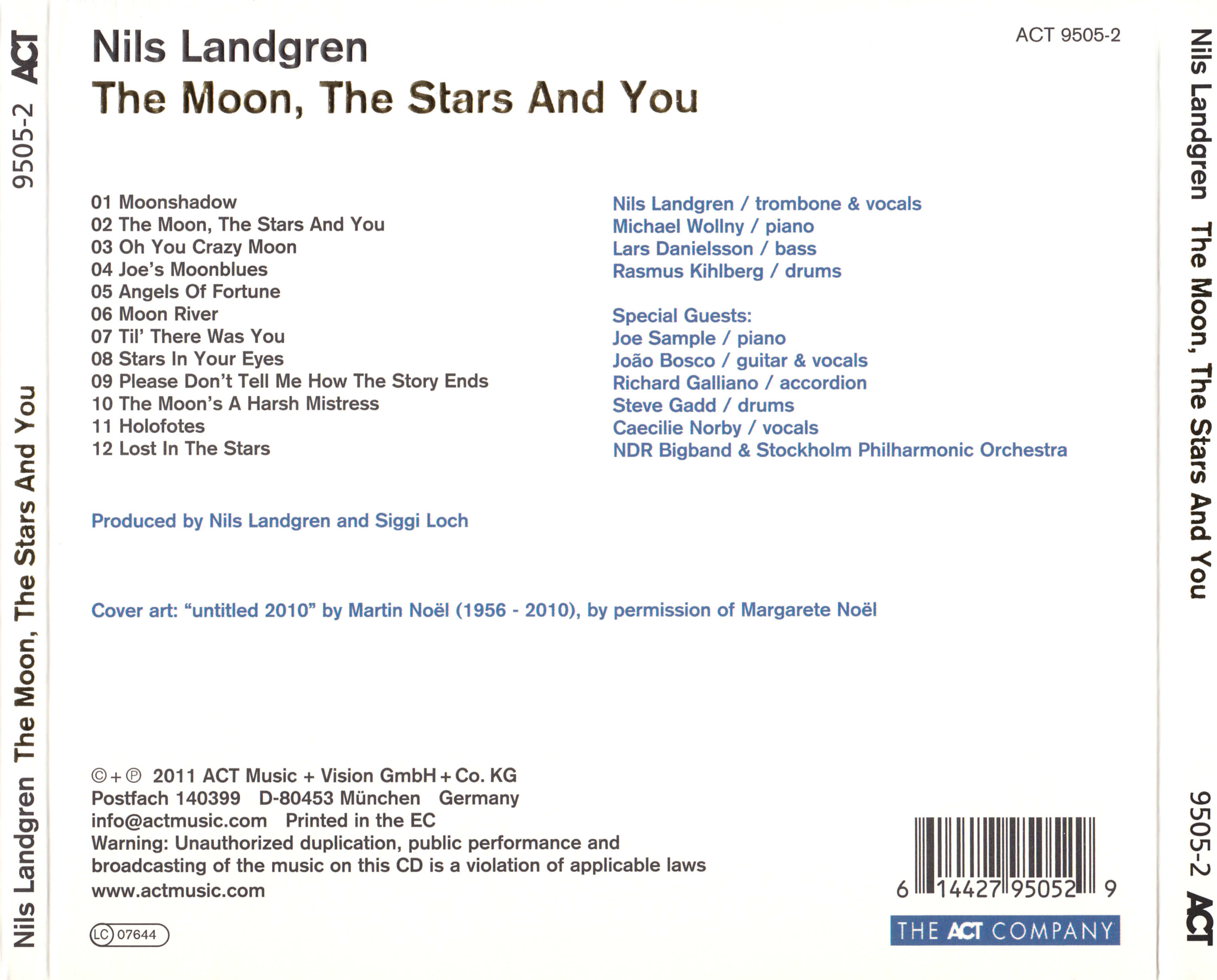 nils landgren the moon the stars and you