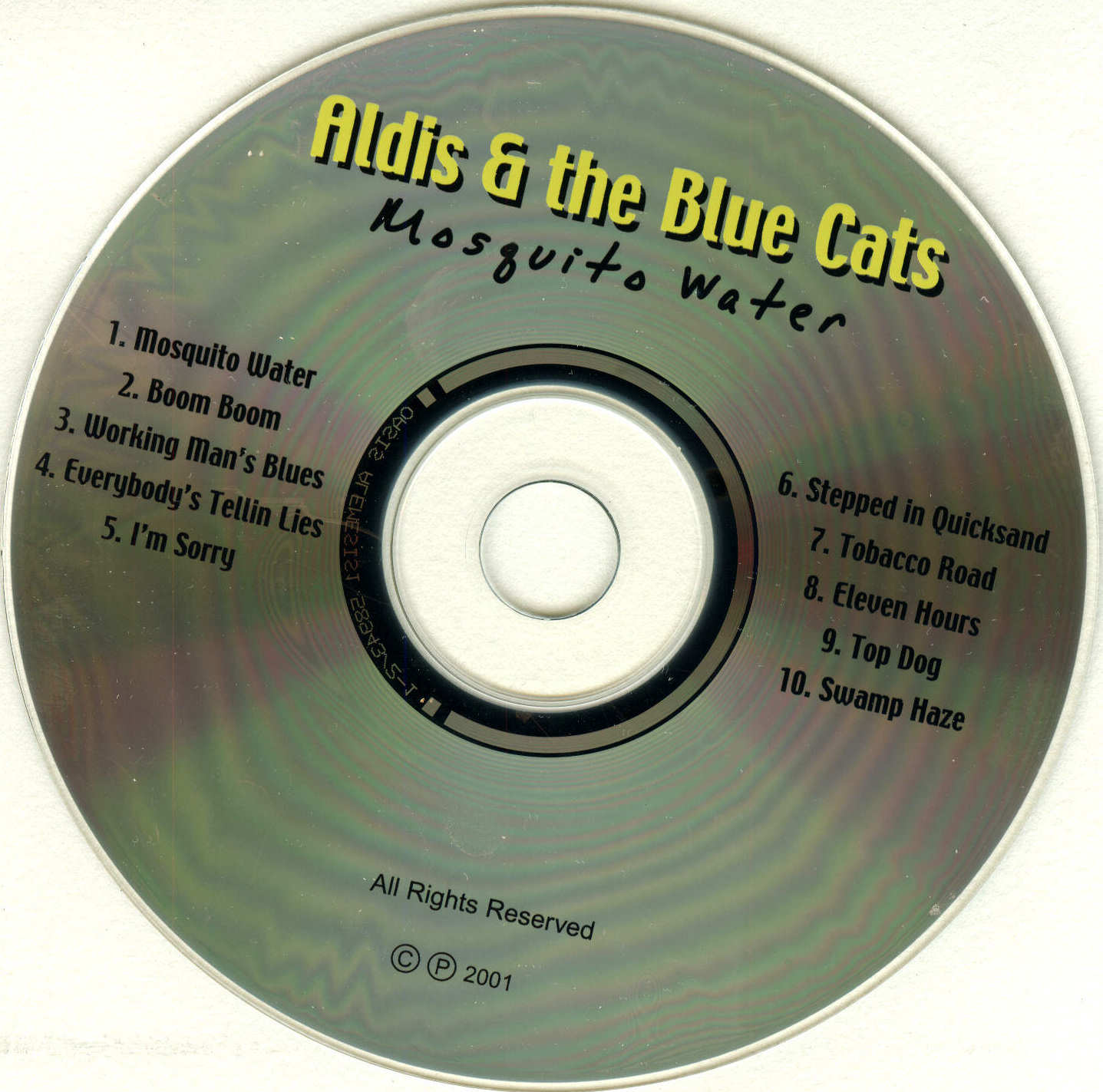 COVERS BOX SK ::: aldis & the blue cats blues band