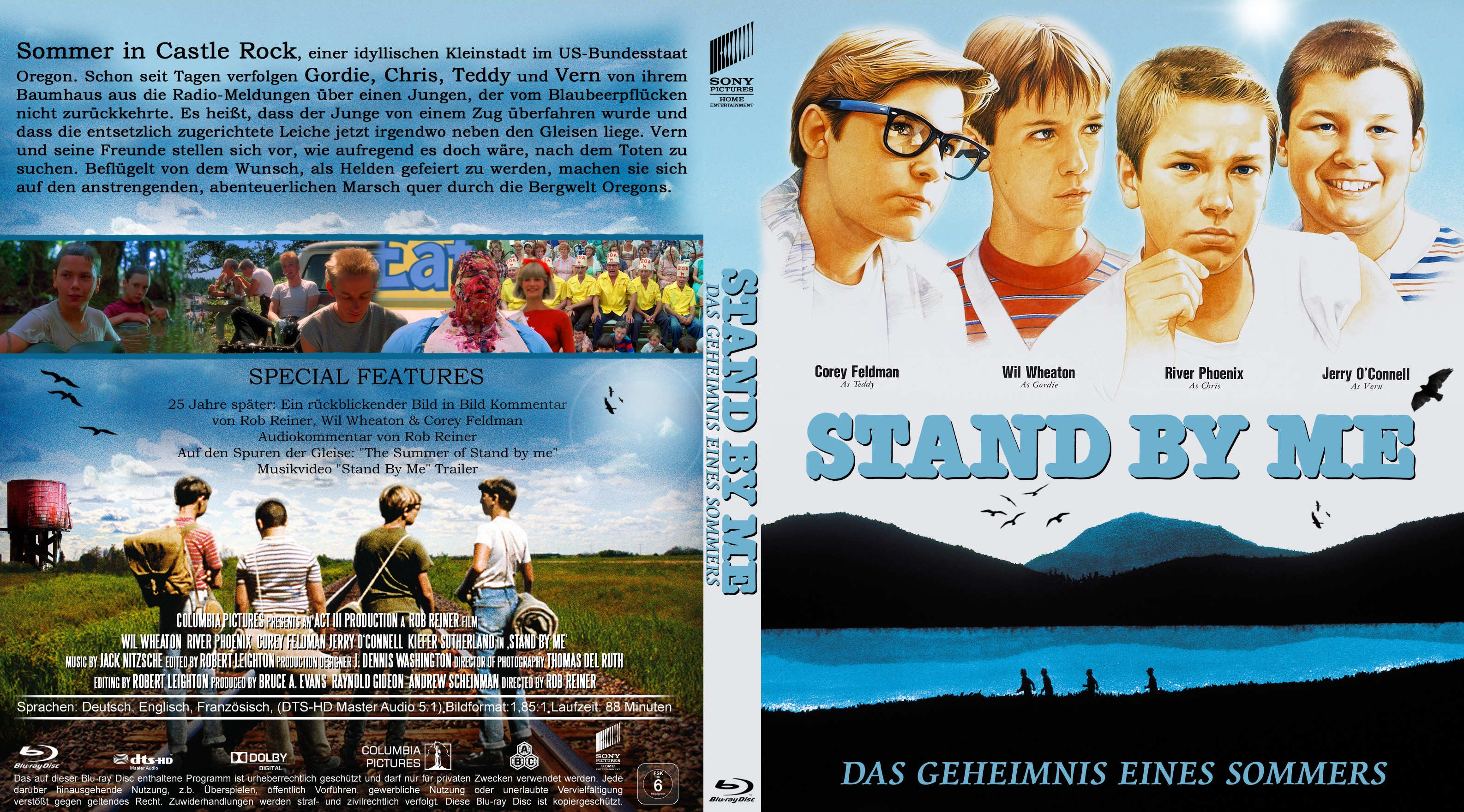 Amazoncom Stand by Me 25th Anniversary Edition Blu
