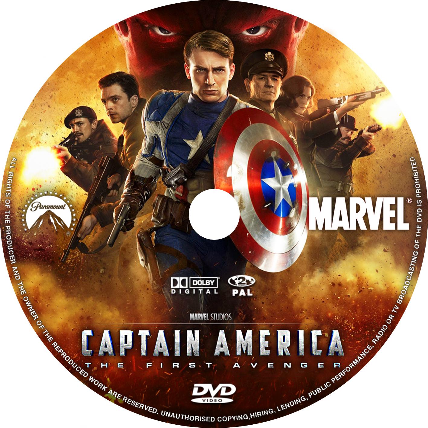 Captain america the first avenger 2011 - Captain America The First Avenger 2011 Cd