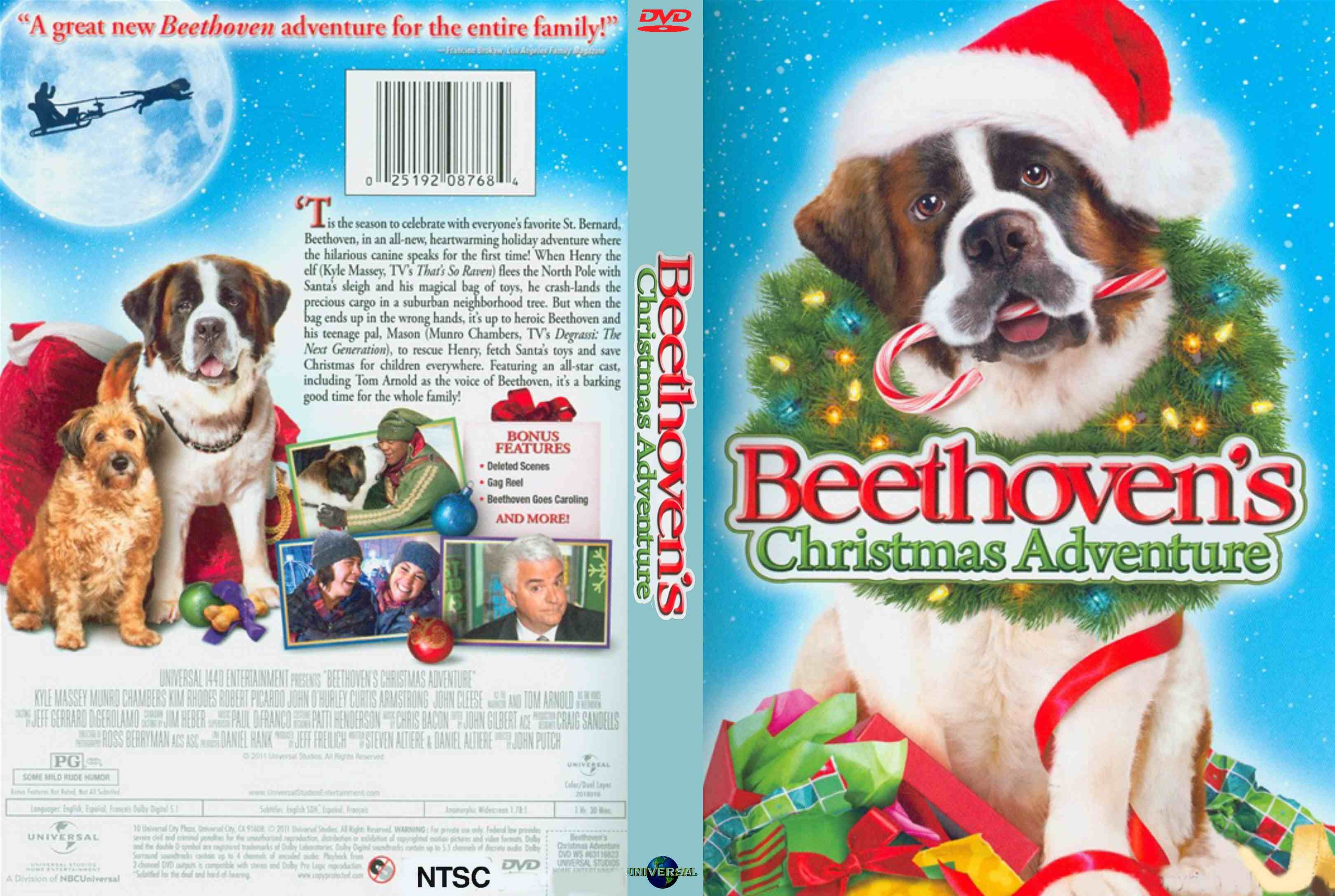 COVERS.BOX.SK ::: beethoven's christmas adventure (2011) - high ...