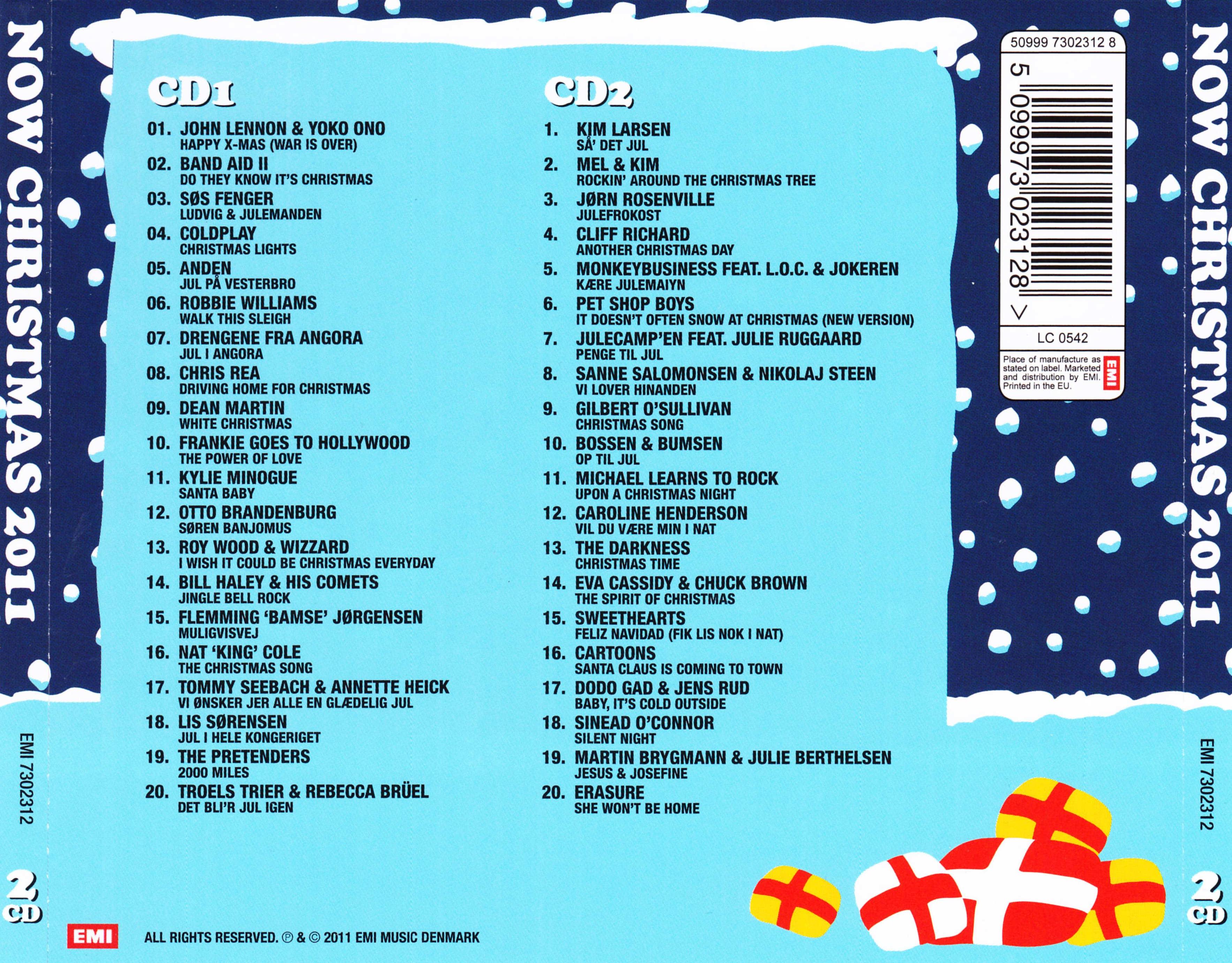 COVERS.BOX.SK ::: v.a. - now christmas 2011 - high quality DVD ...