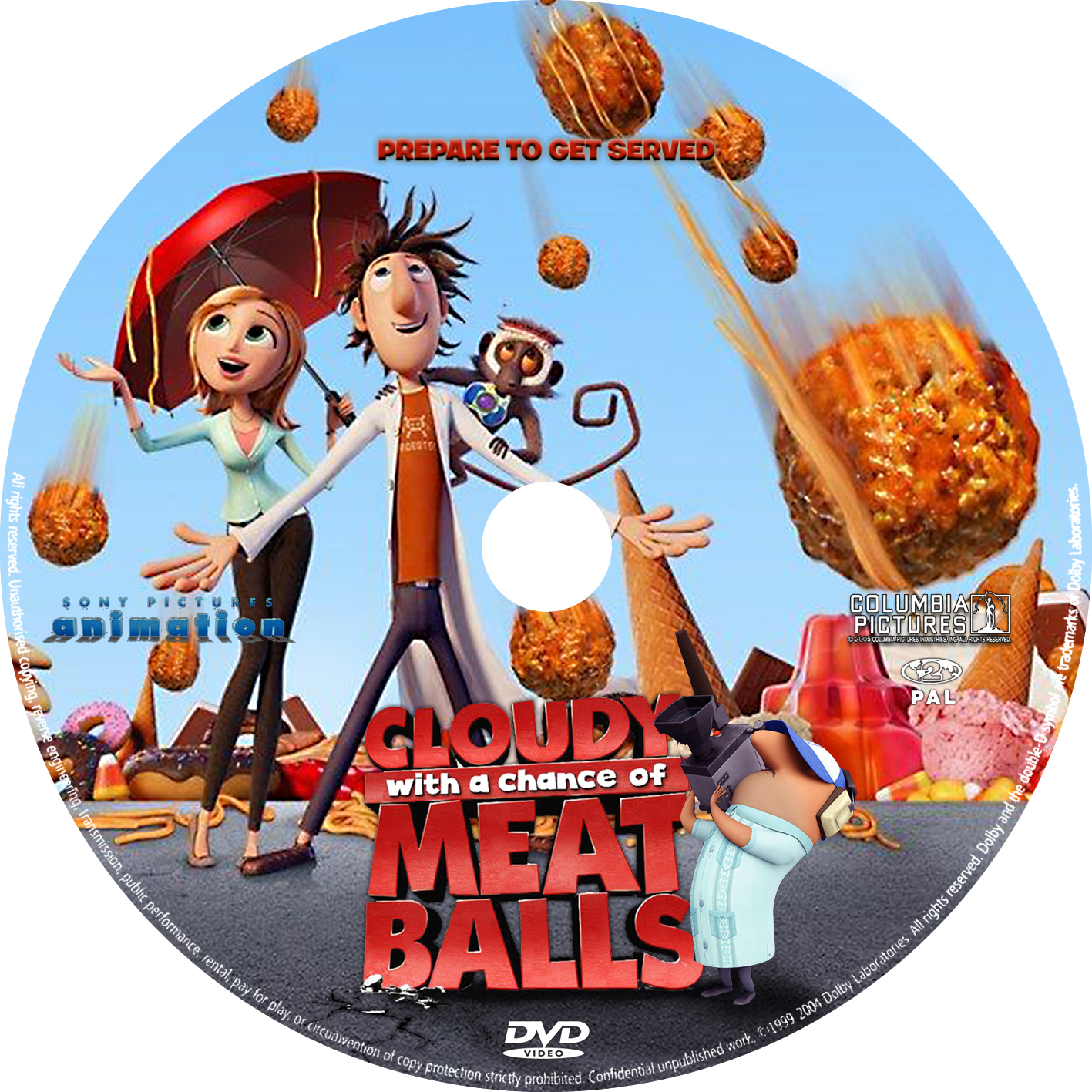 picture suggestion for cloudy with a chance of meatballs dvd