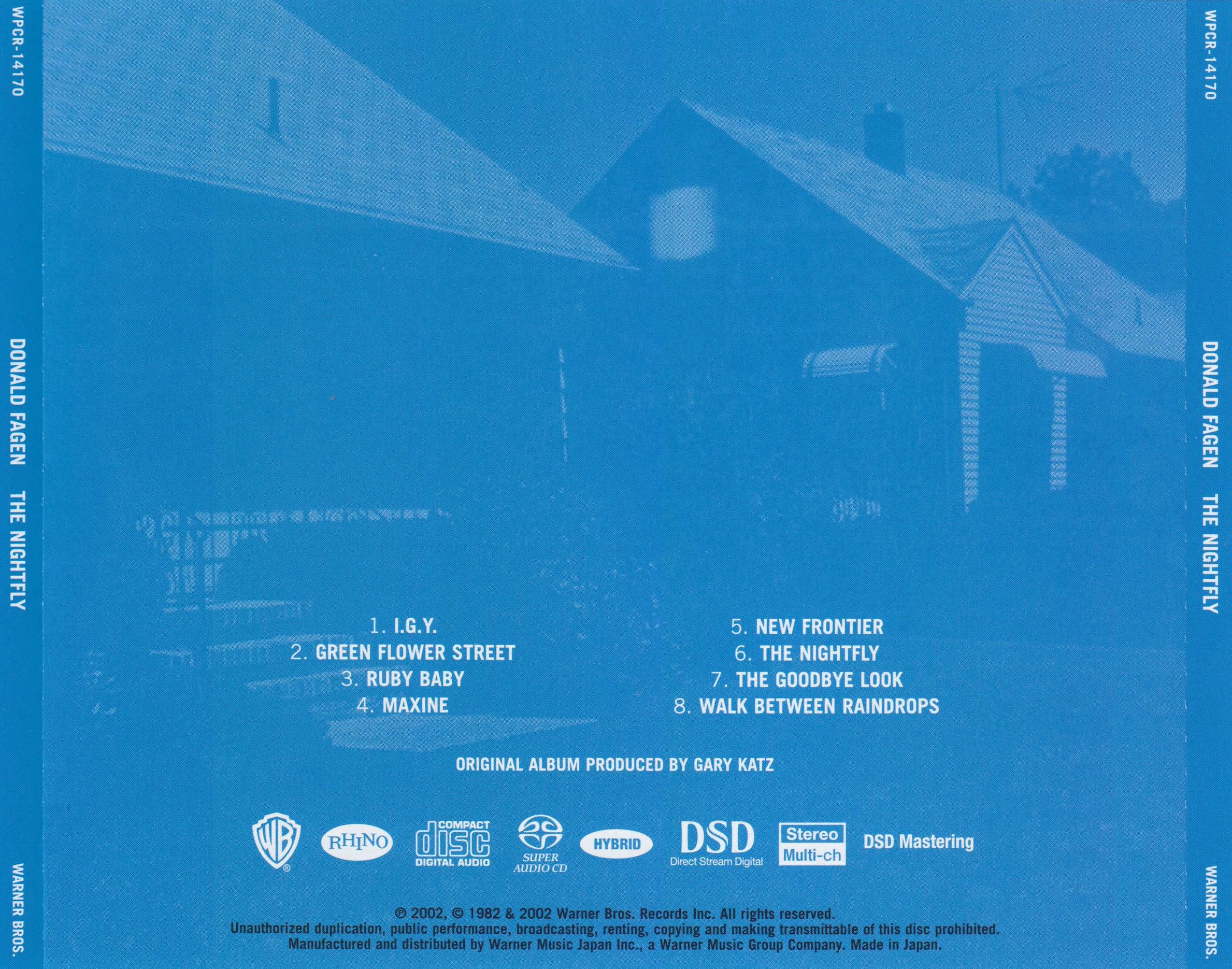 The nightfly (édition studio masters)   donald fagen – download.