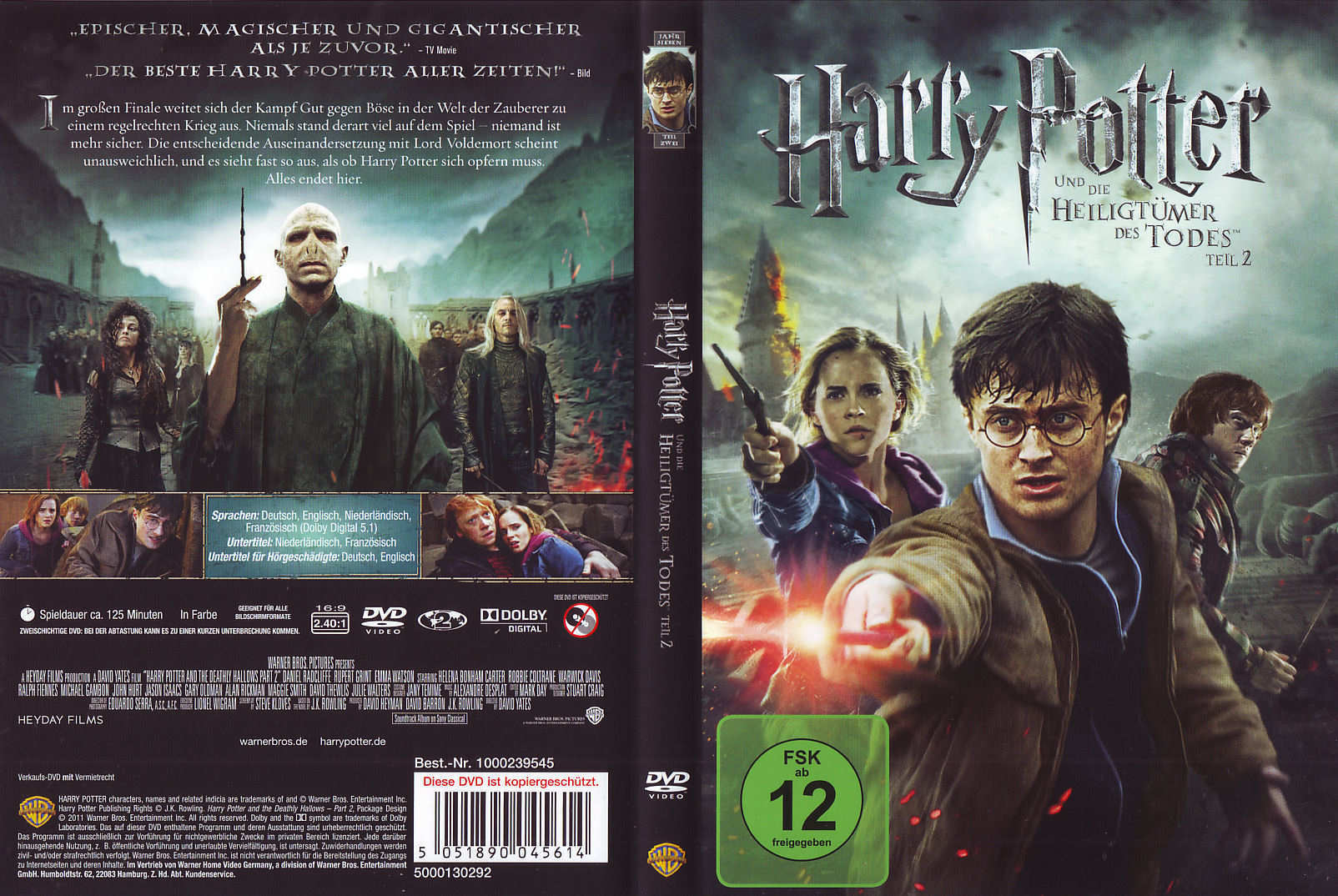 Covers Box Sk Harry Potter And The Deathly Hallows Part 1 2010 High Quality Dvd Blueray Movie