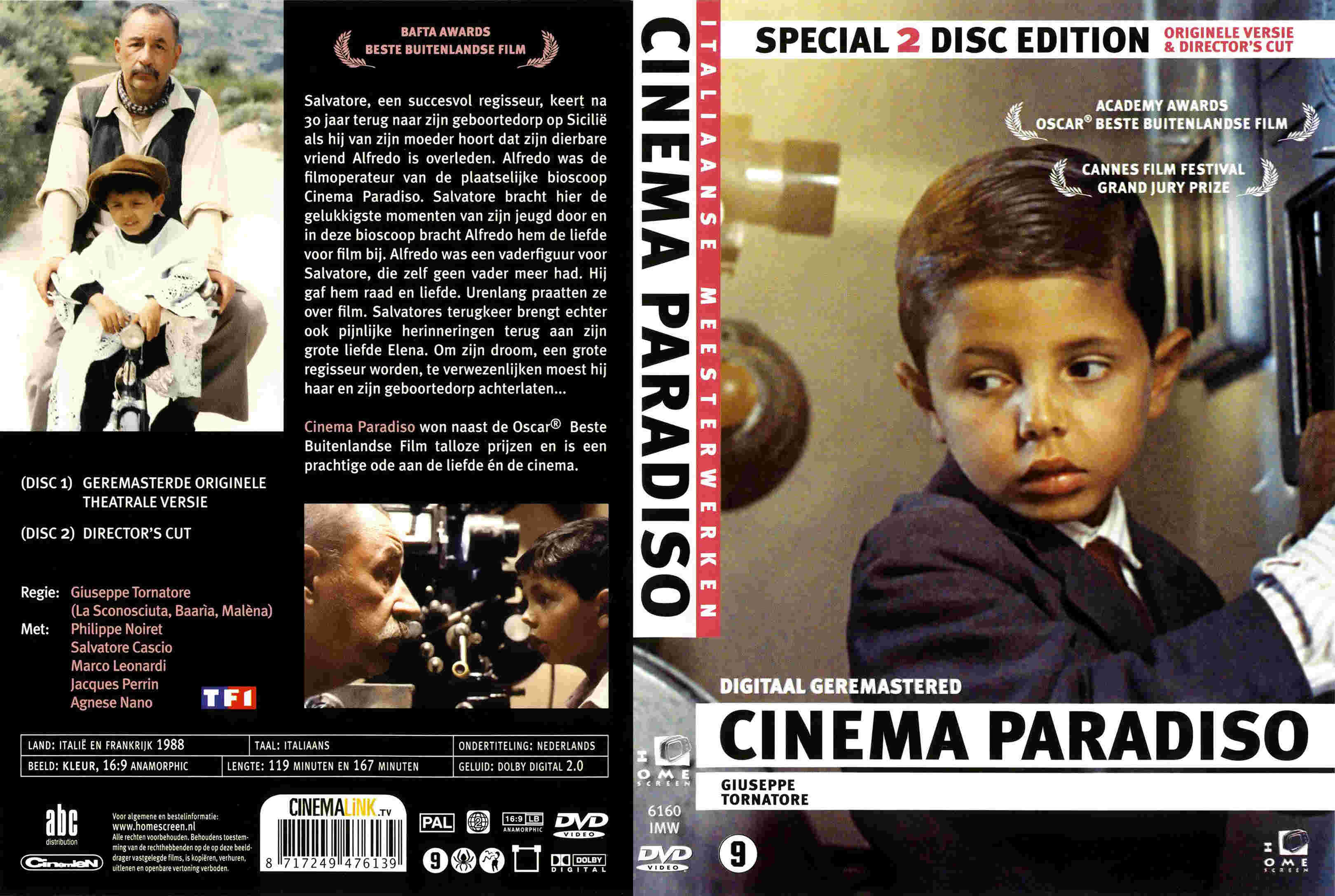 cinema paradiso Listen to songs from the album cinema paradiso (original soundtrack recording), including cinema paradiso, maturity, while thinking about her again, and many more.