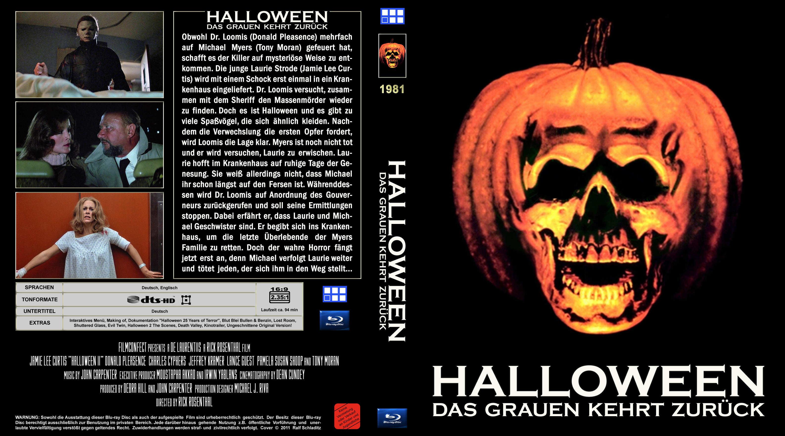 Covers Box Sk Halloween Ii 1981 High Quality Dvd