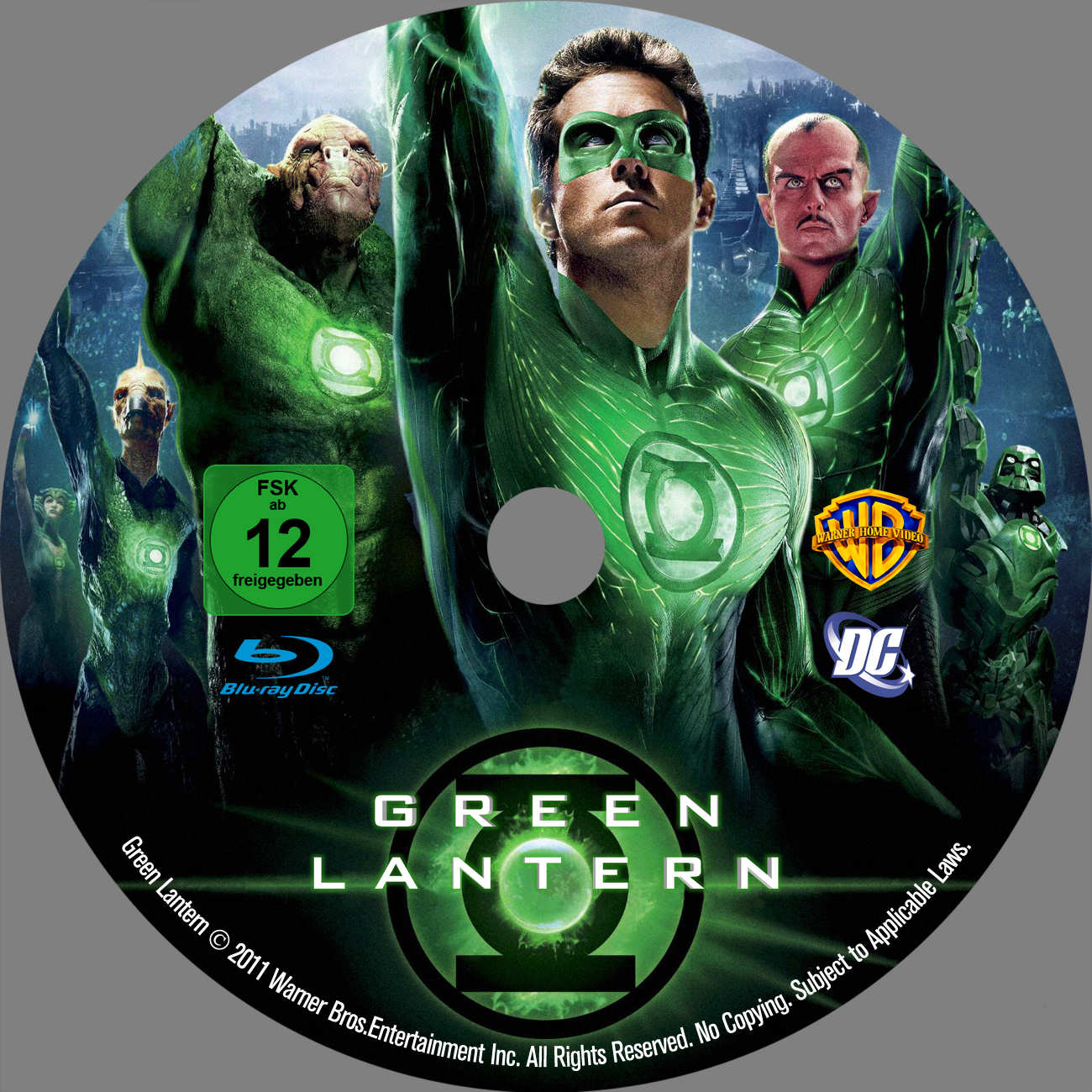 Green lantern dvd cover