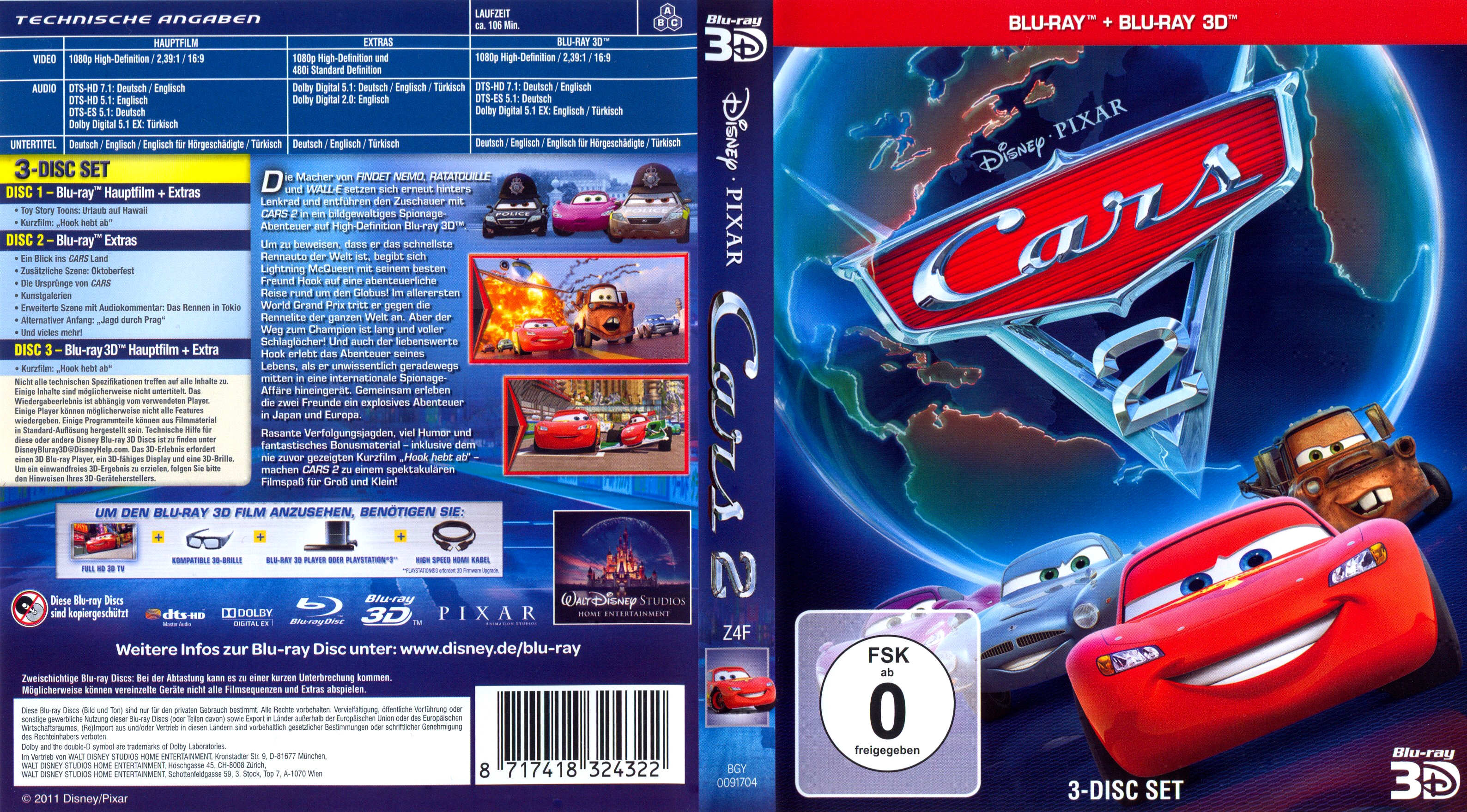Dvd Cover Cars  Nederlands