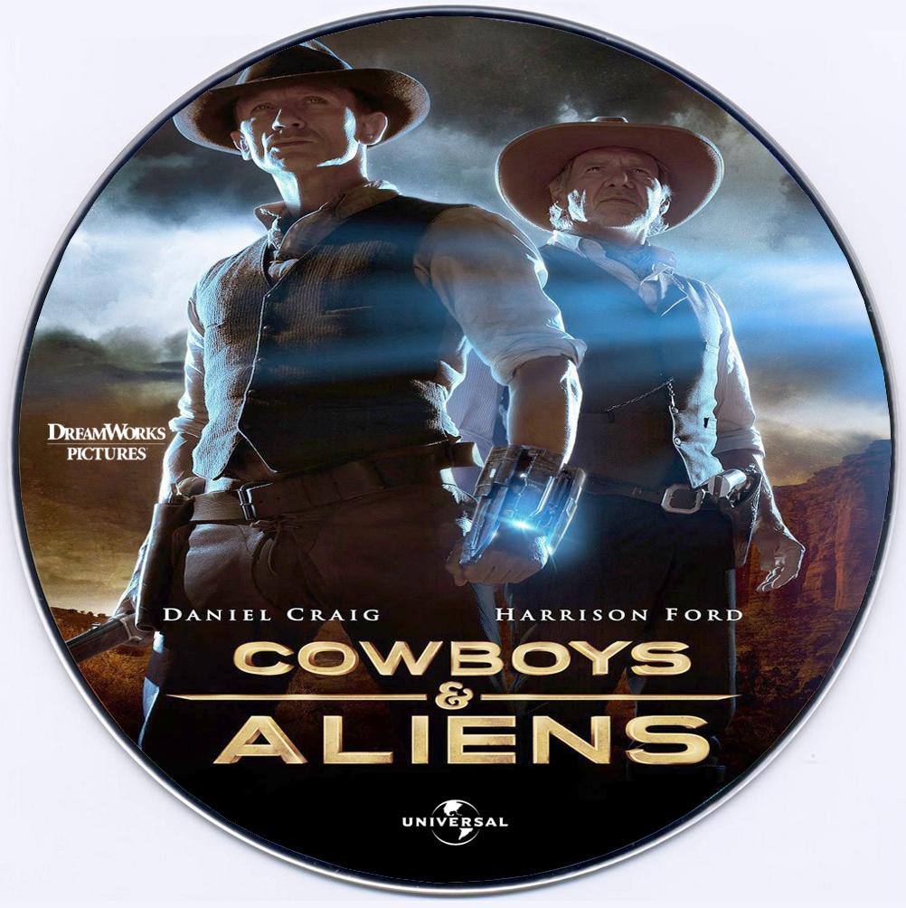 Covers Box Sk Cowboys Aliens 2011 High Quality Dvd Blueray Movie