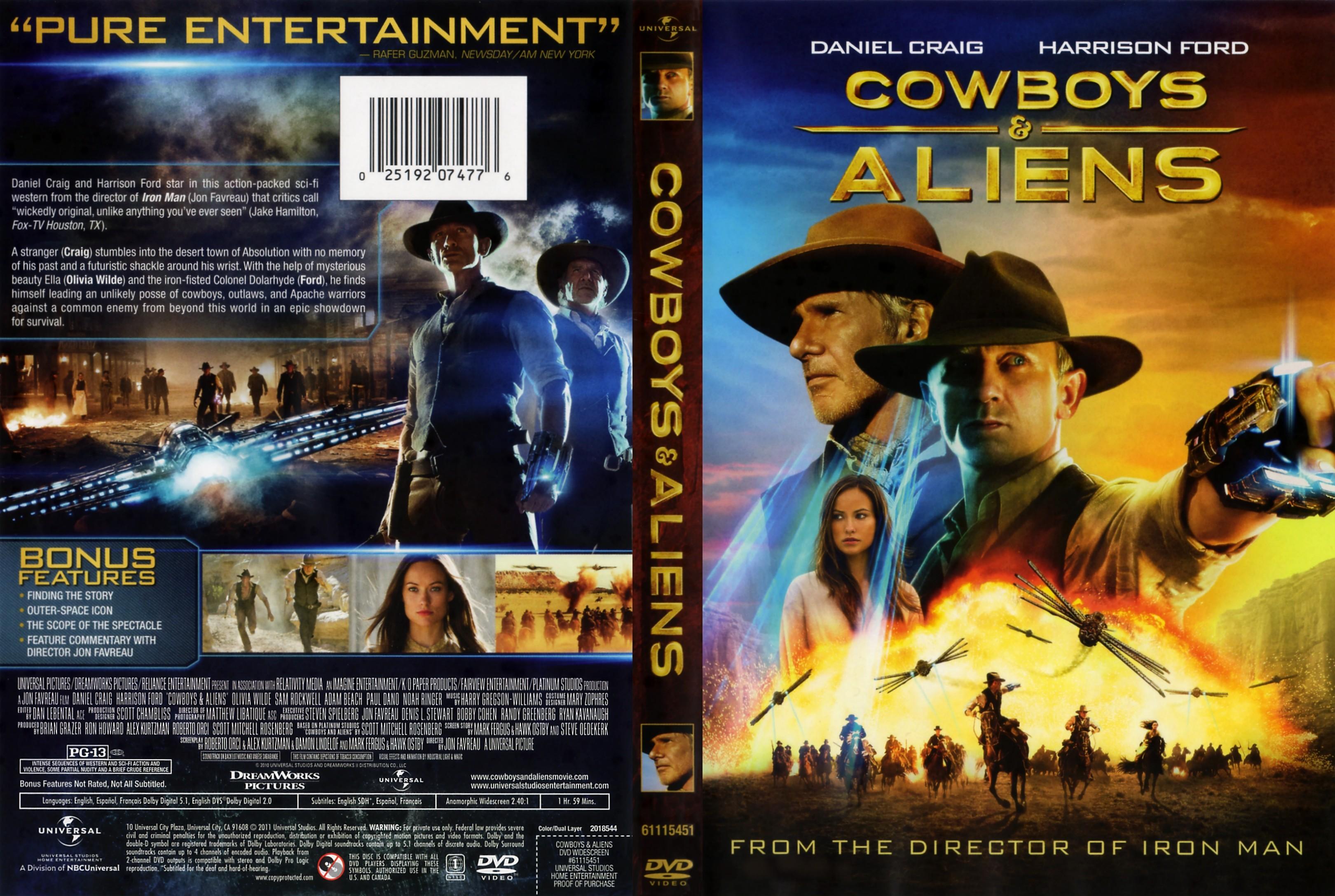 Resultado de imagen para Cowboys & Aliens 2011