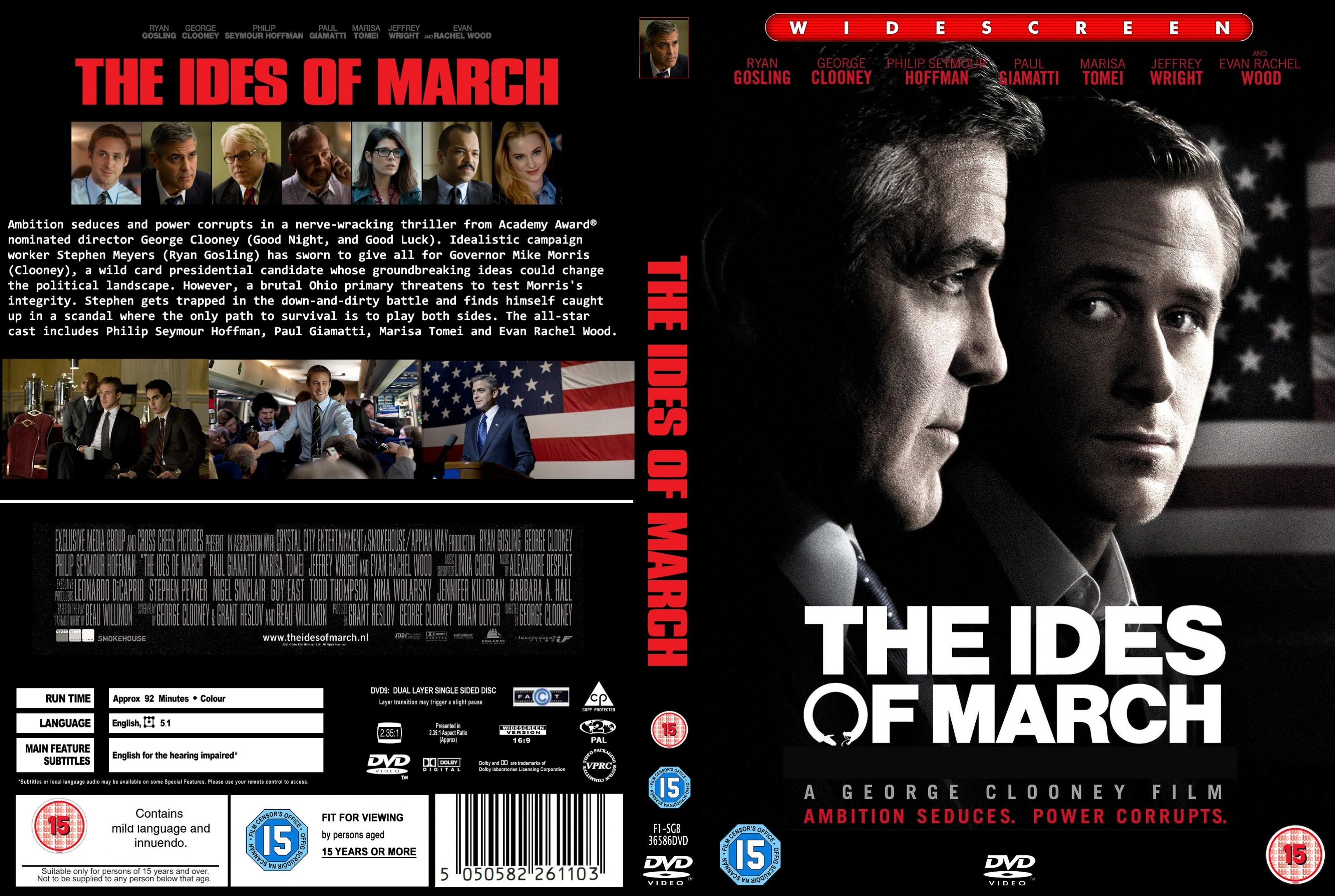 Ides Of March News: COVERS.BOX.SK ::: The Ides Of March (2011)