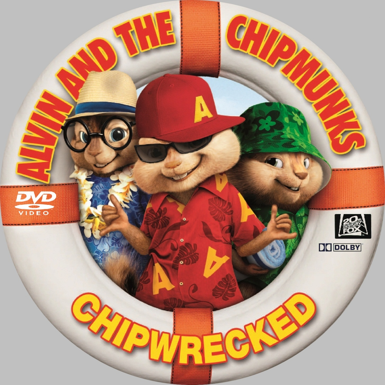Covers Box Sk Alvin And The Chipmunks Chipwrecked 2011 High Quality Dvd Blueray Movie