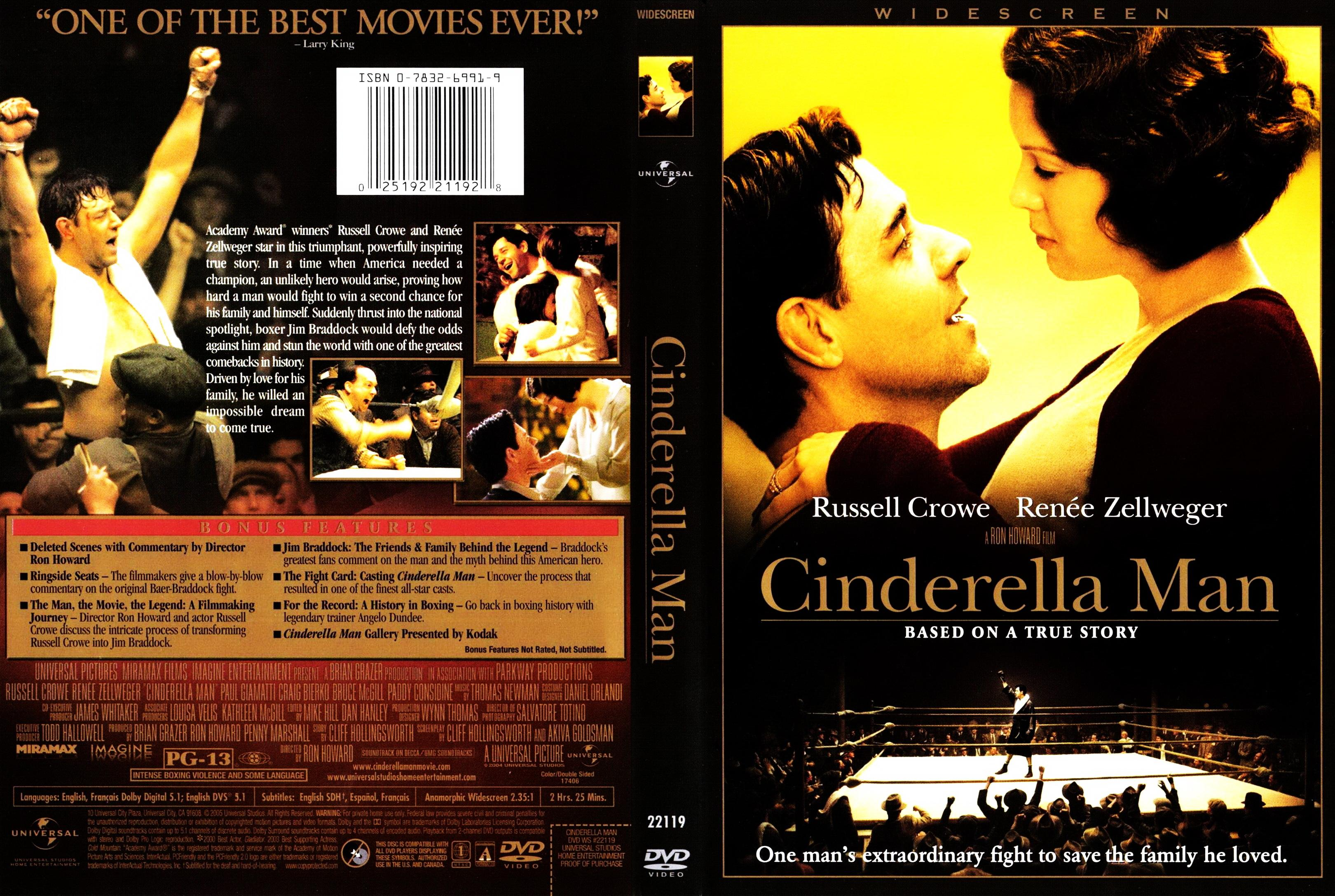 the life and struggles of boxing champion james braddock in the film cinderella man