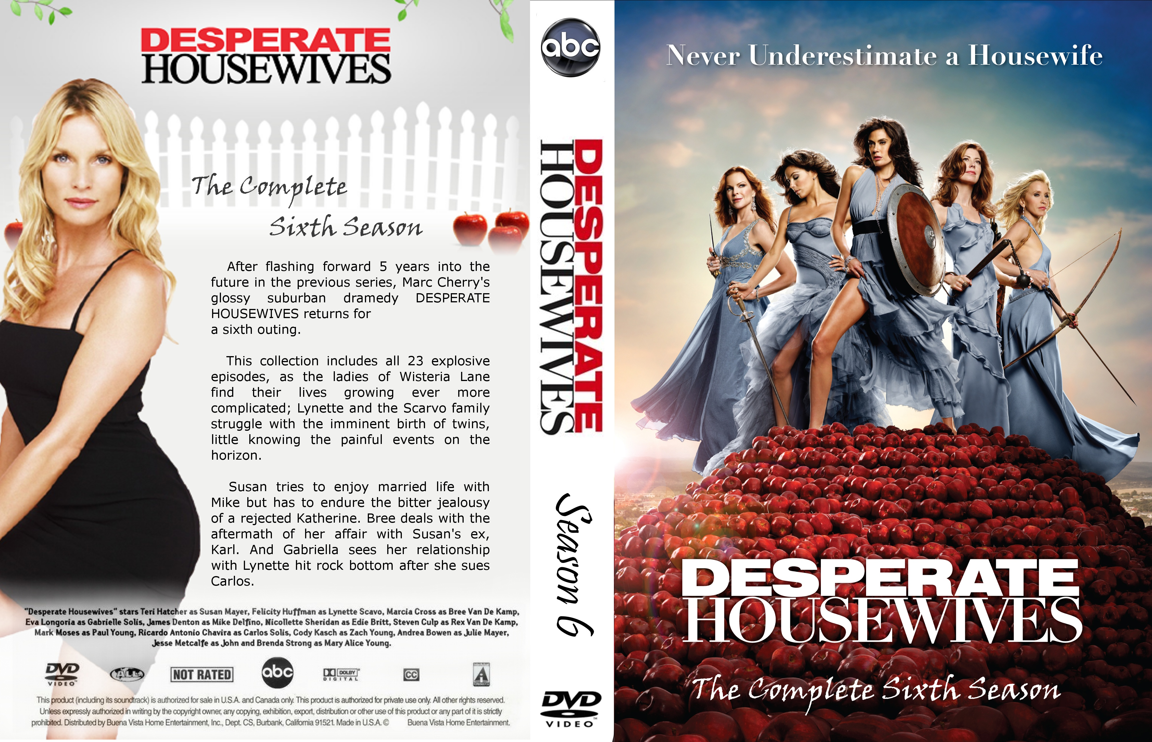 Covers Box Sk Desperate Housewives Season 6 High Quality Dvd Blueray Movie Only one thing is for sure: sk desperate housewives season