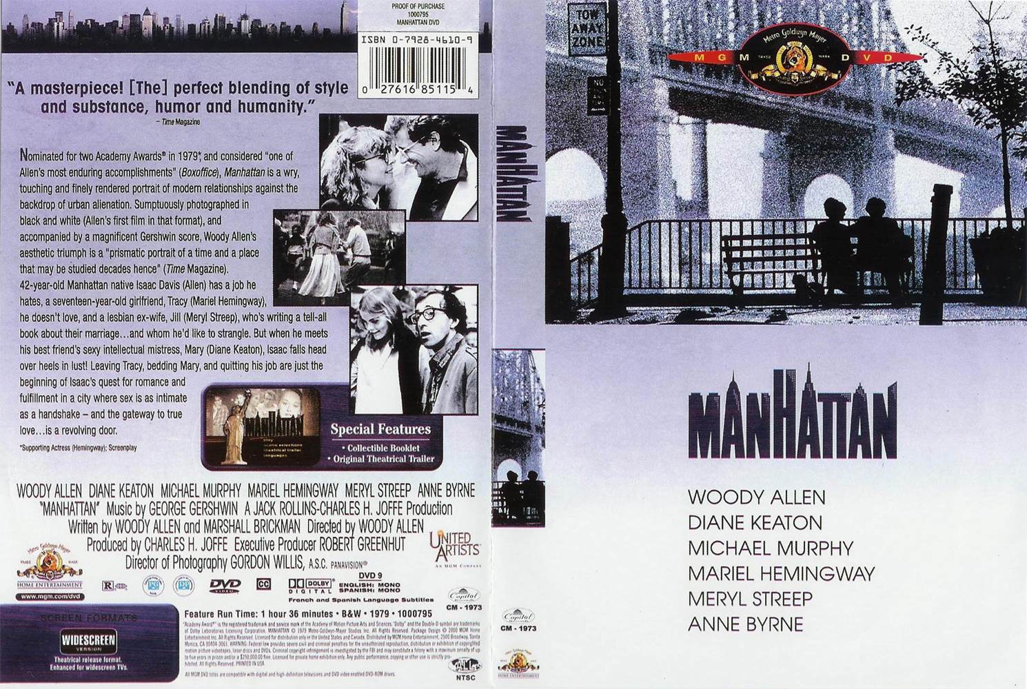 manhattan dvd  COVERS.BOX.SK ::: Manhattan (1979) - high quality DVD / Blueray / Movie