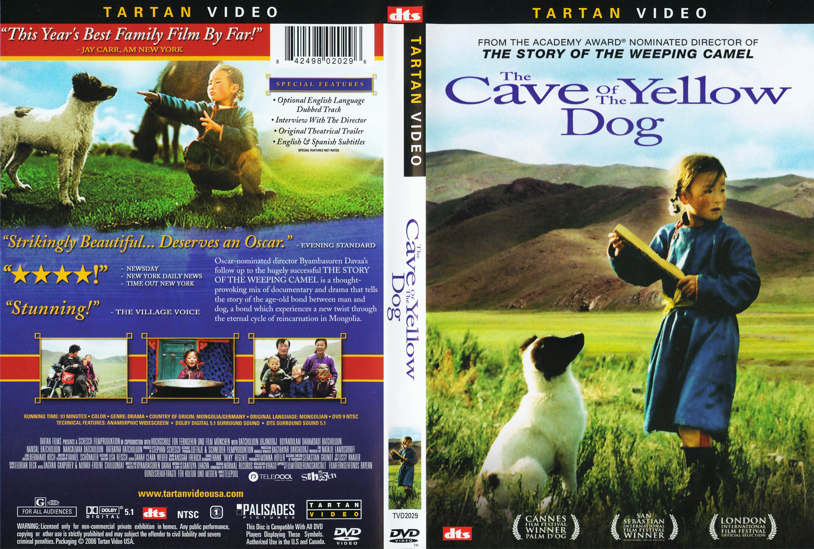 The Cave Of The Yellow Dog Full Movie