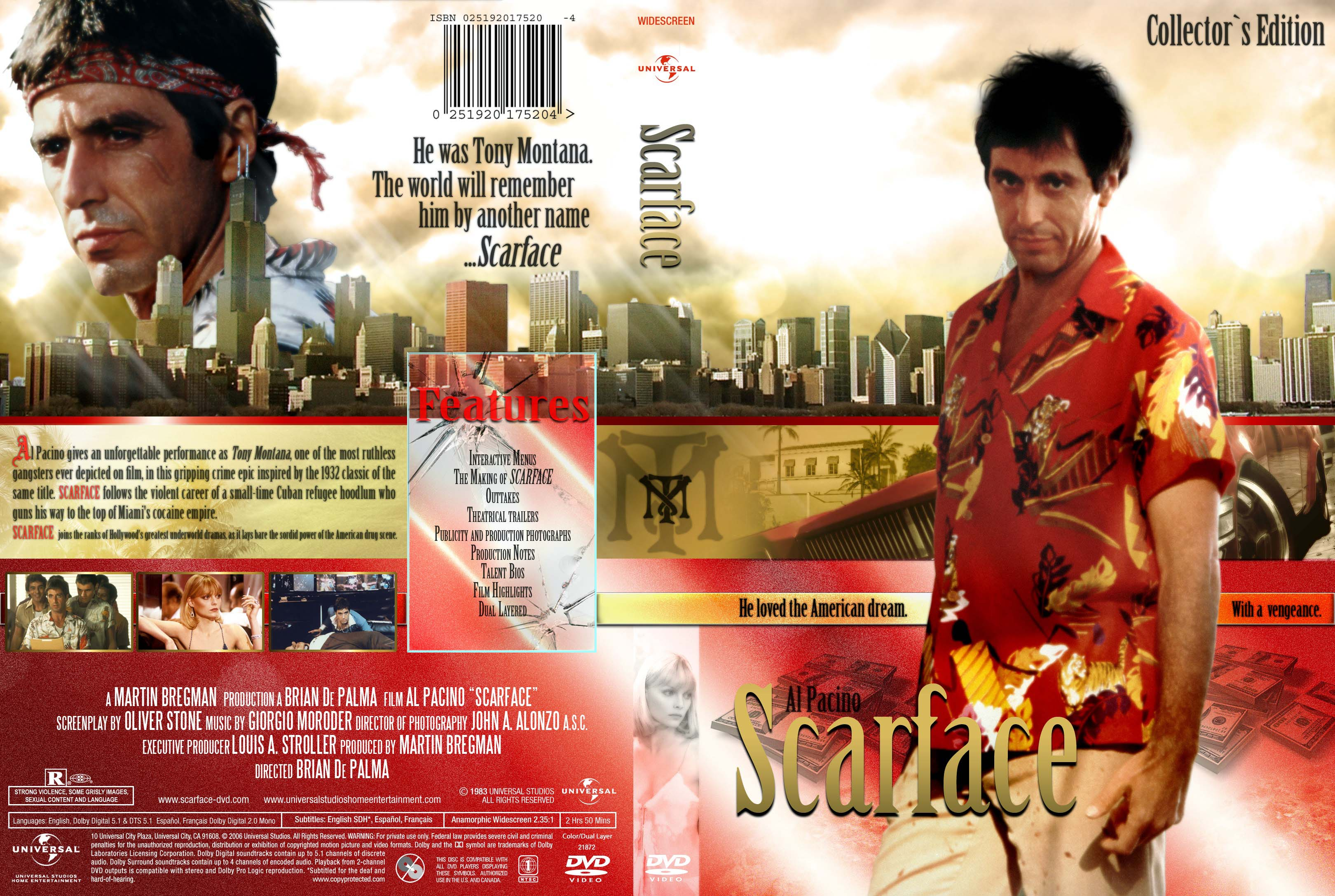 COVERS BOX SK ::: Scarface (1983) - high quality DVD