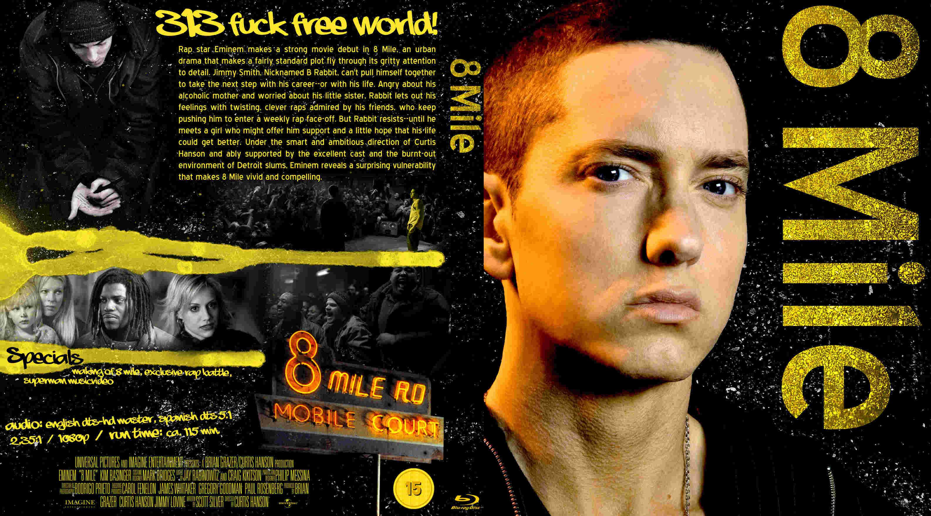 Eminem 8 Mile 2002