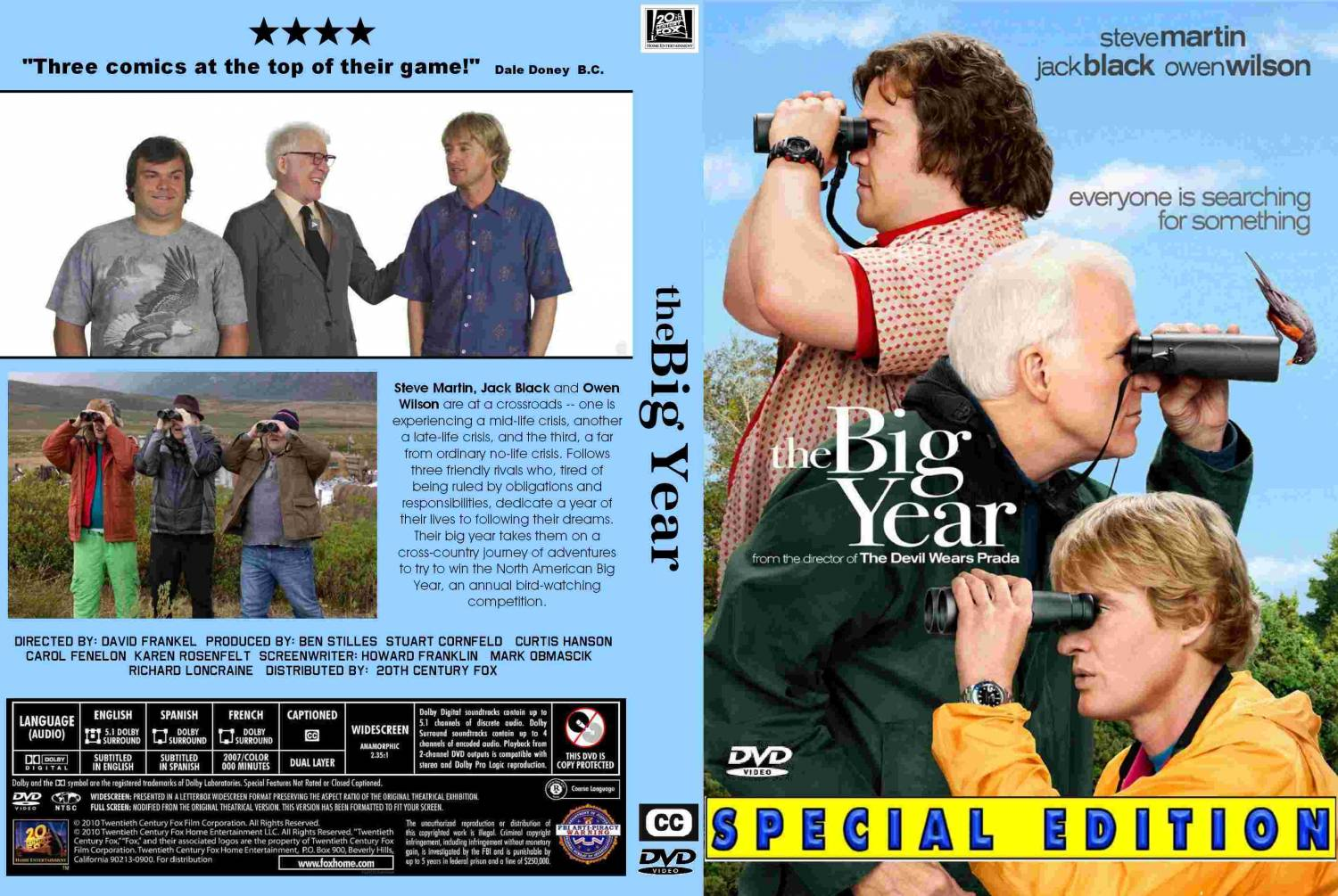 The Big Year dvd label - DVD Covers & Labels by ...  |The Big Year Dvd