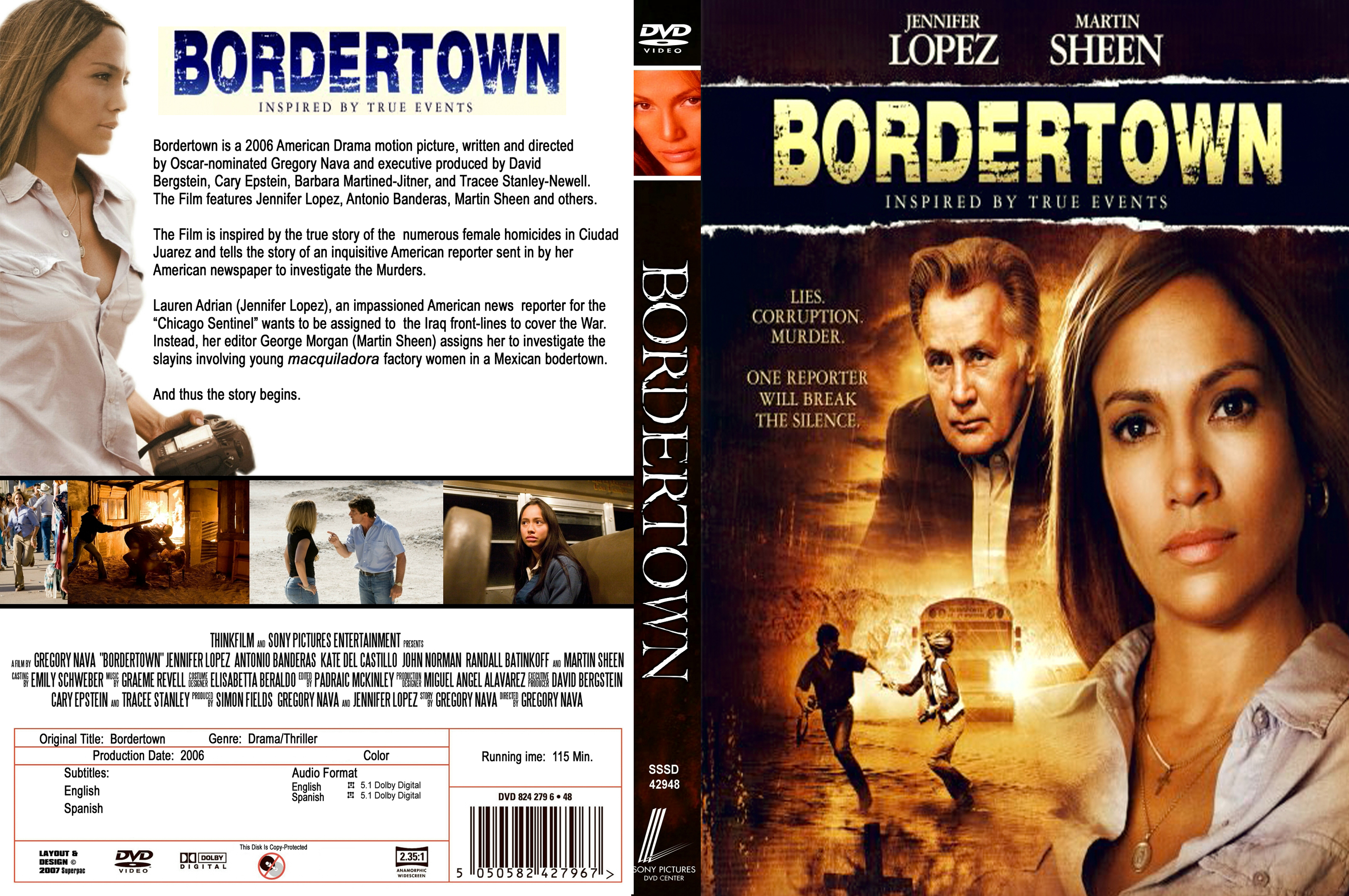 Coversboxsk Bordertown 2006 High Quality Dvd Blueray Movie