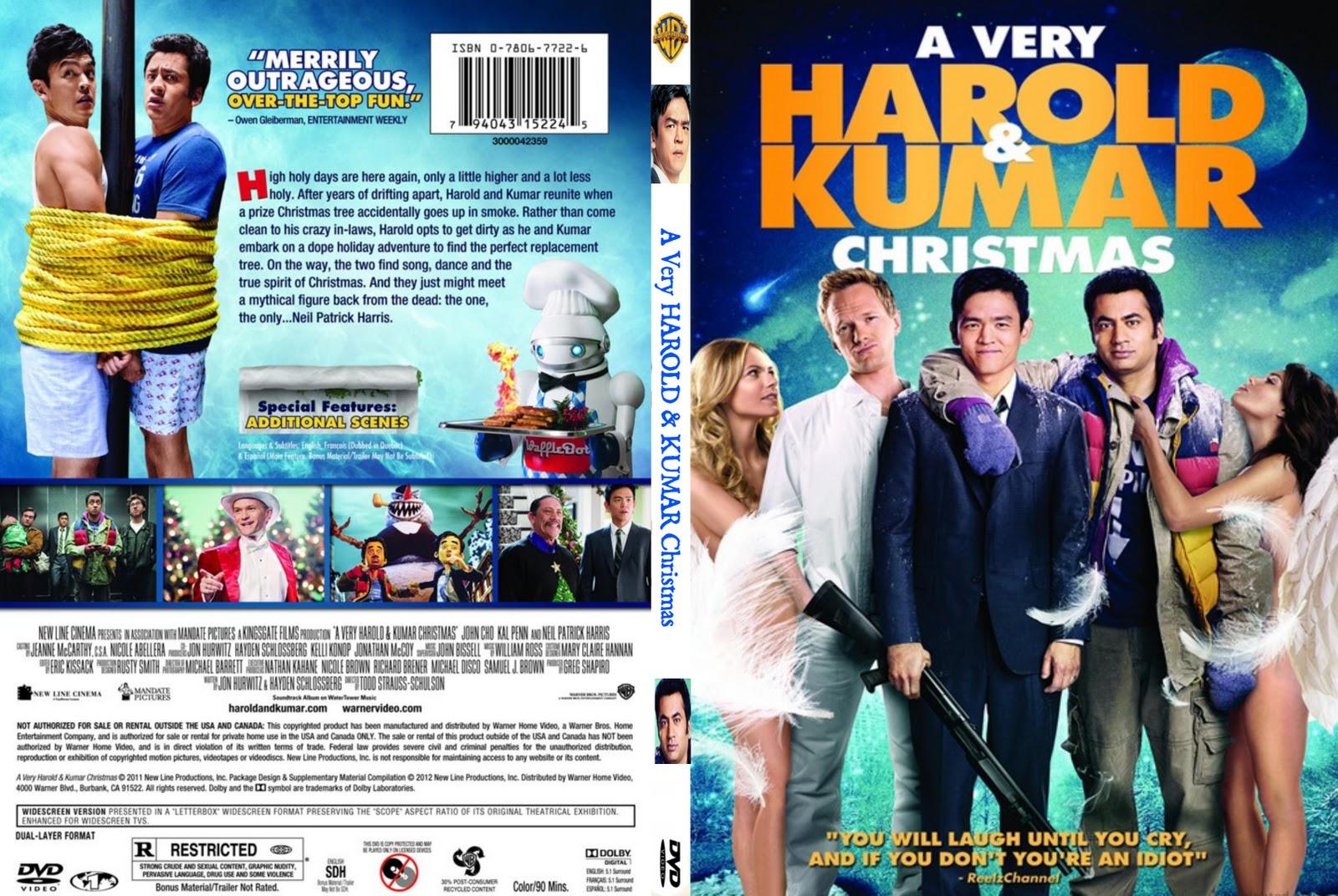 Harold And Kumar Christmas.Covers Box Sk A Very Harold Kumar 3d Christmas High
