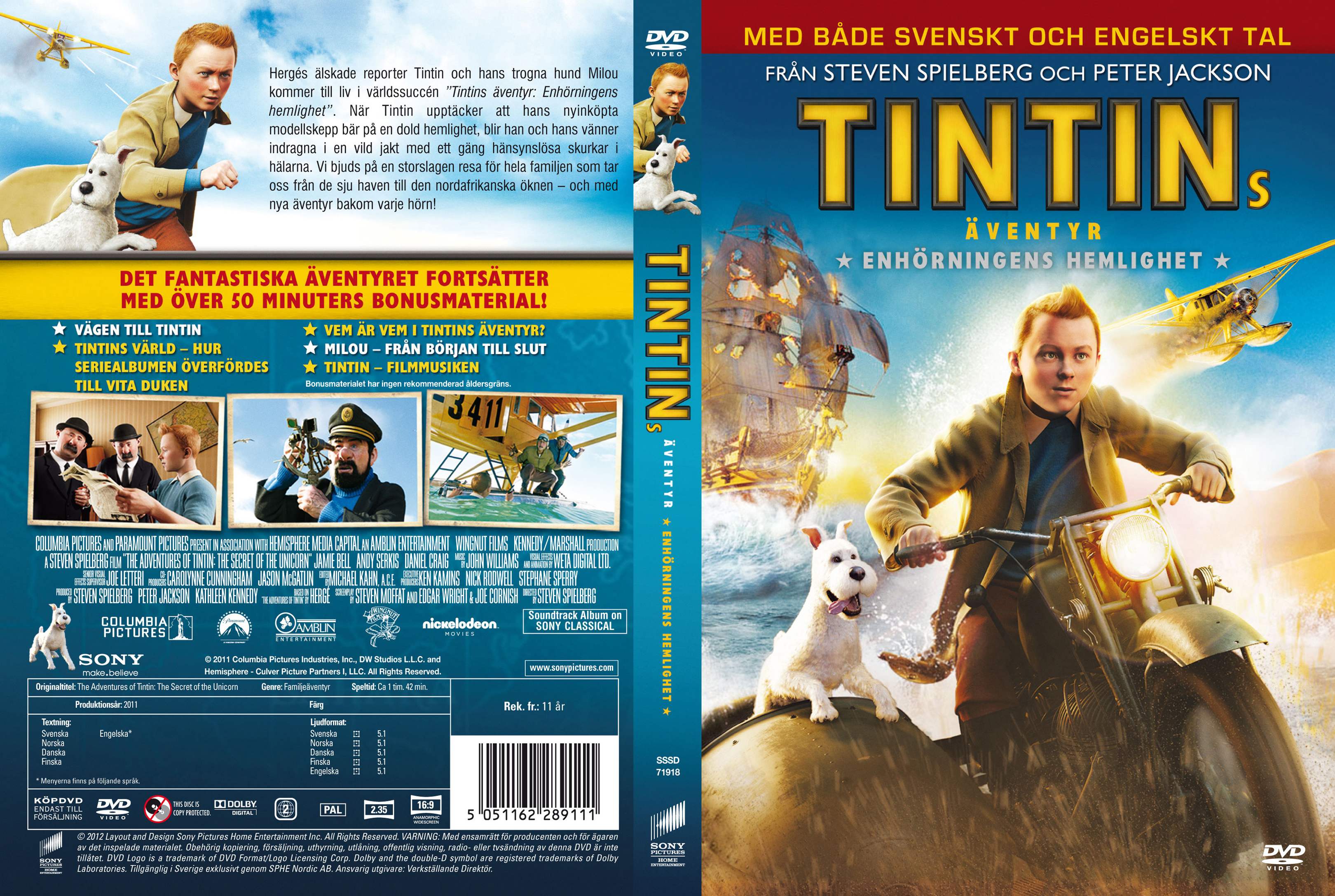covers.box.sk ::: the adventures of tintin: secret of the unicorn