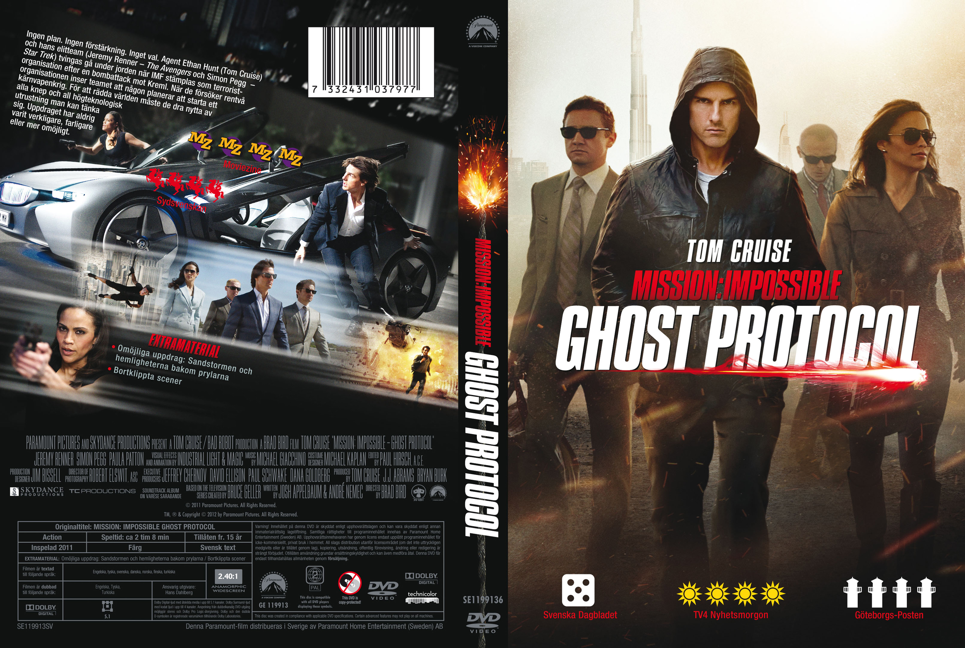 COVERS BOX SK ::: Mission: Impossible - Ghost Protocol
