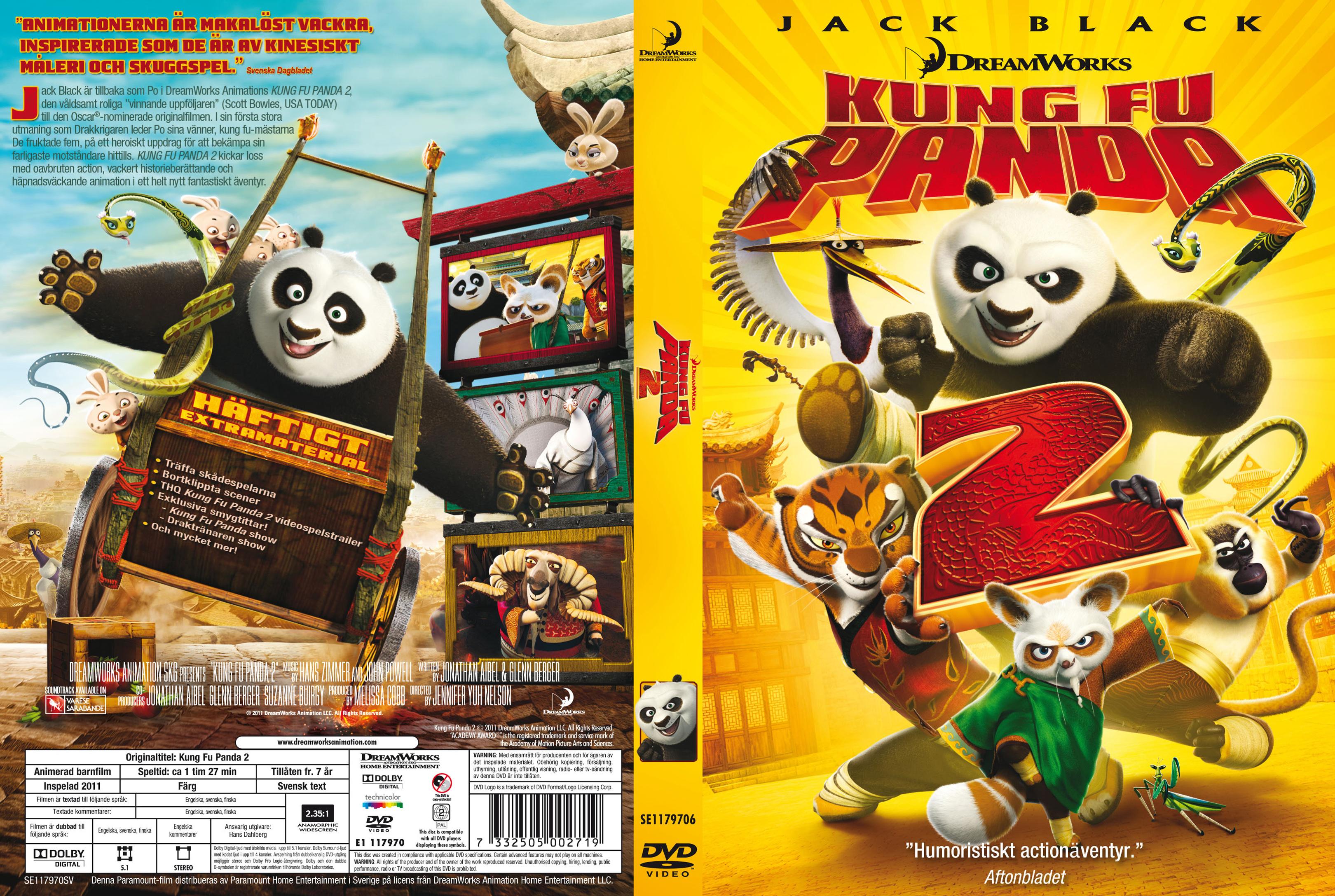 Kung Fu Panda 2 Dvd Cover COVERS.BOX.SK ::: Kung...
