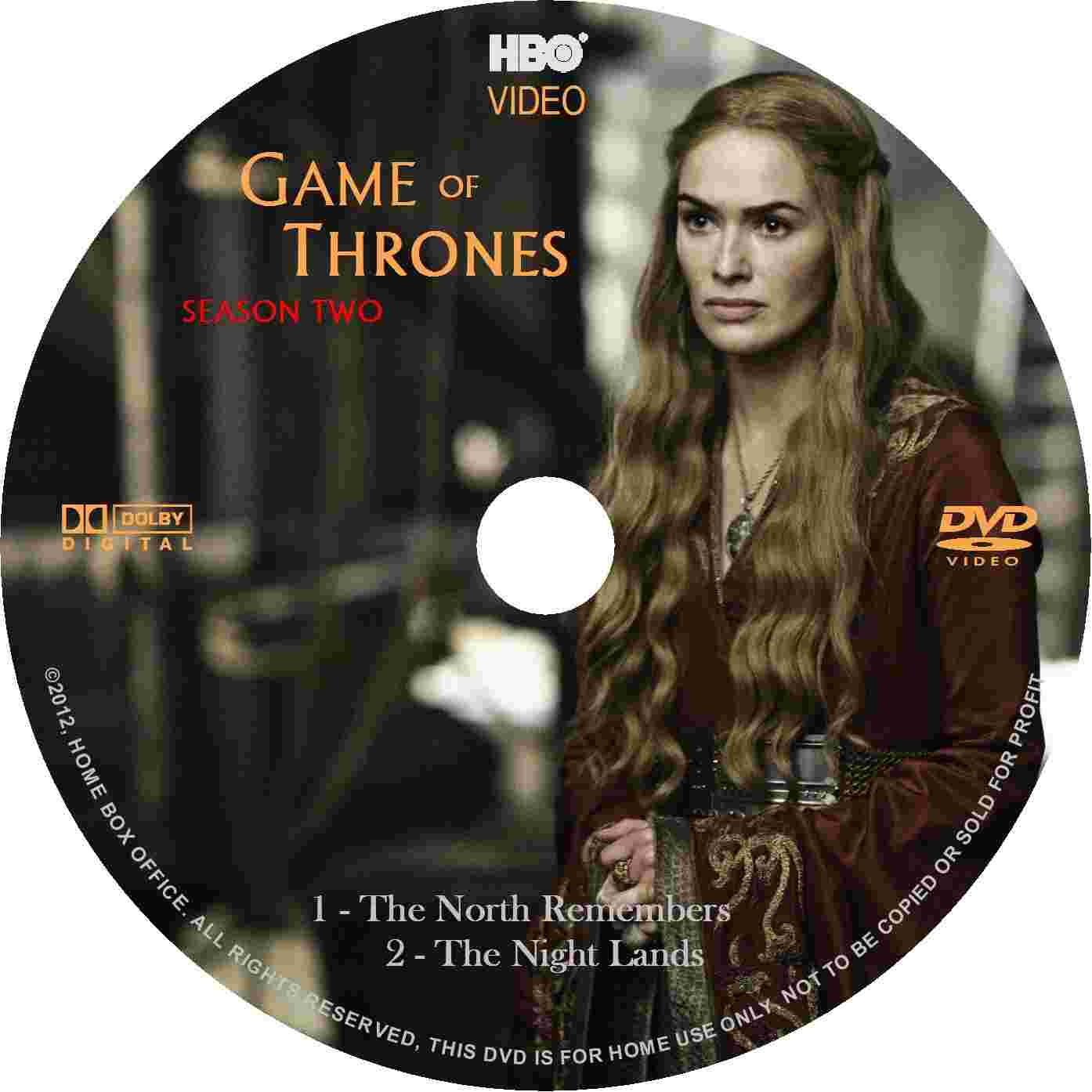 covers box sk game of thrones season 2 volume 1 2012. Black Bedroom Furniture Sets. Home Design Ideas